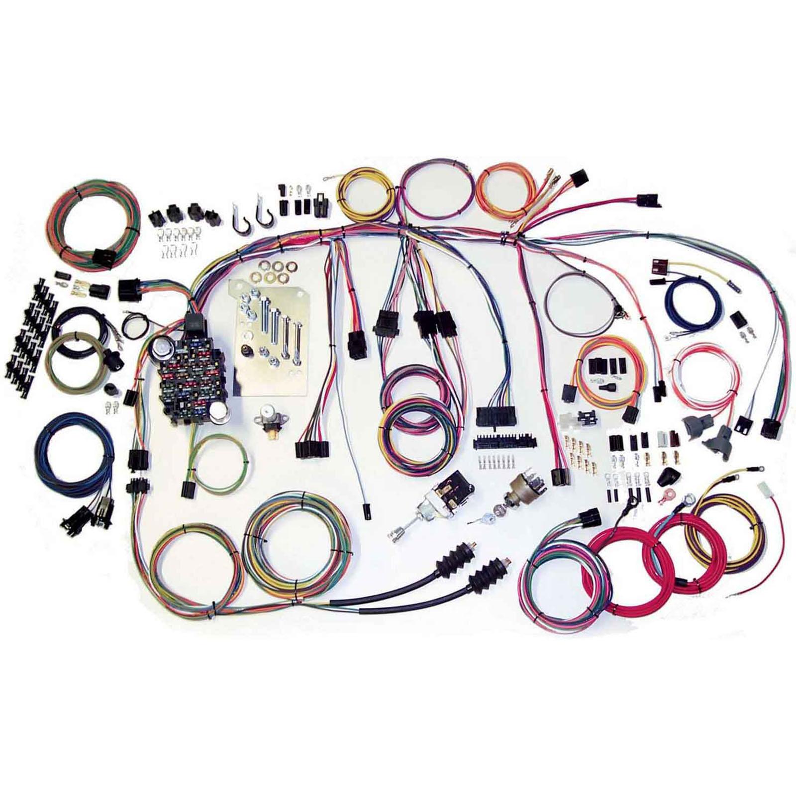 american autowire 500560 60 66 chevy truck wiring harness ebay rh ebay com