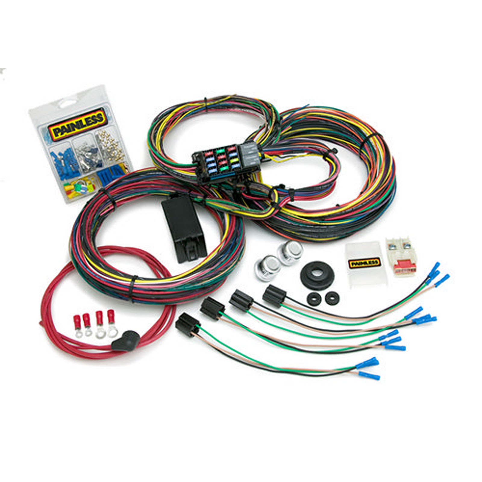 PAINLESS WIRING 10123 66-76 Ford Muscle Car Wiring Harness 21 Curcui