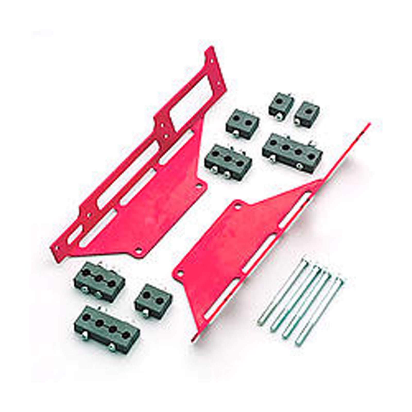 RM SPECIALTIES 1120R Spark Plug Wire Loom SBC C/B Red | eBay
