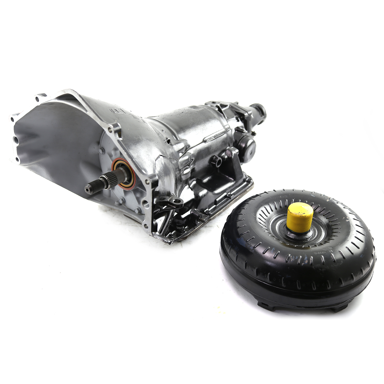 Turbo 700R-4 Th700R-4 Gm Performance Rebuilt Overdrive Transmission W/ Converter