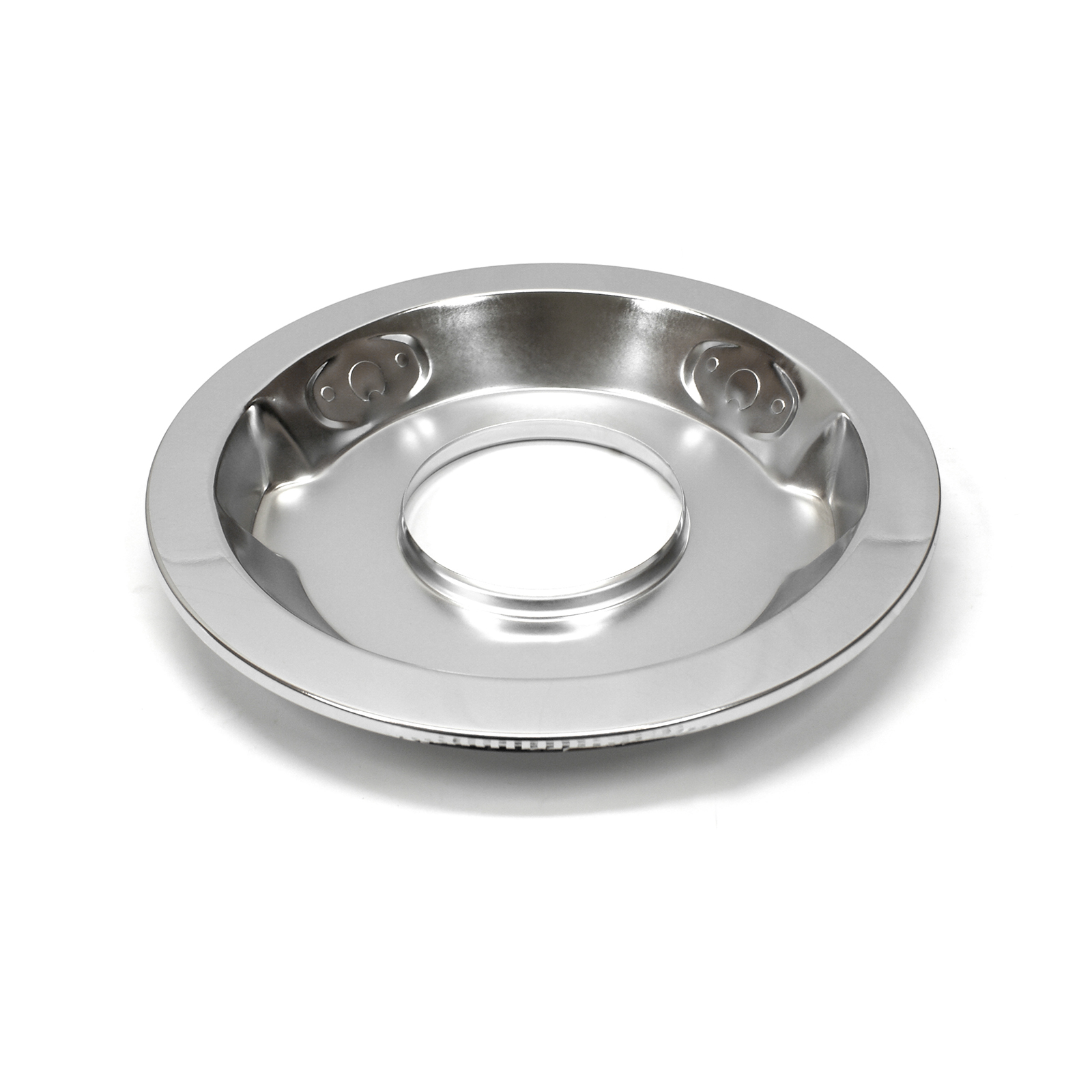 "14"" Chrome Drop Recessed Air Cleaner Base"