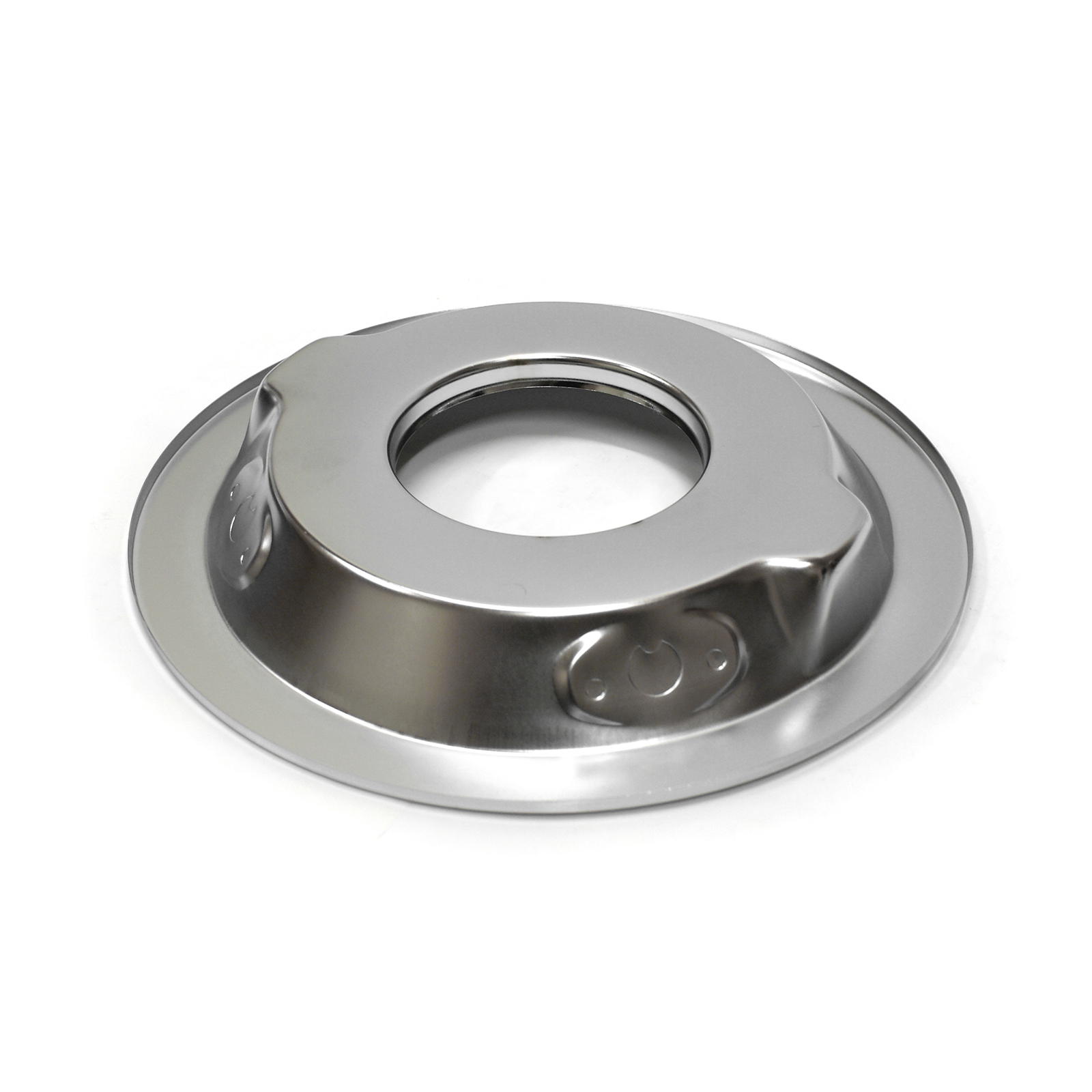"""PCE® PCE101.1002 14"""" Chrome Drop Recessed Air Cleaner Base"""