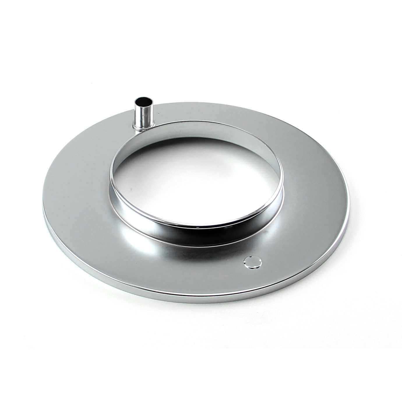 "10"" Chrome Raised Air Cleaner Base"