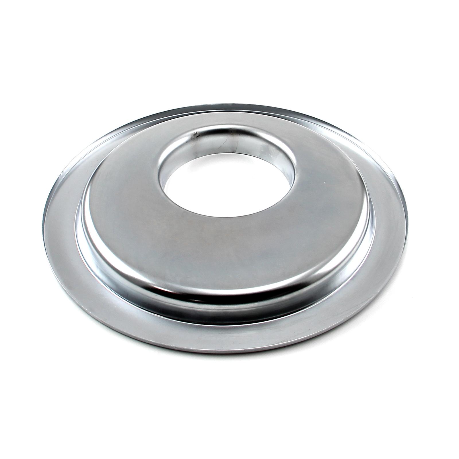 "PCE® PCE101.1004 14"" Chrome Flat Offset Air Cleaner Base"