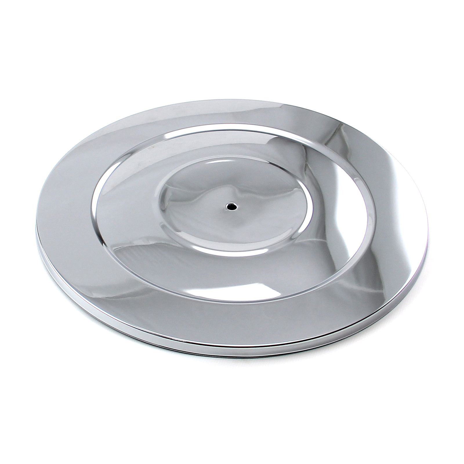 "14"" Chrome Performance Style Air Cleaner Top"