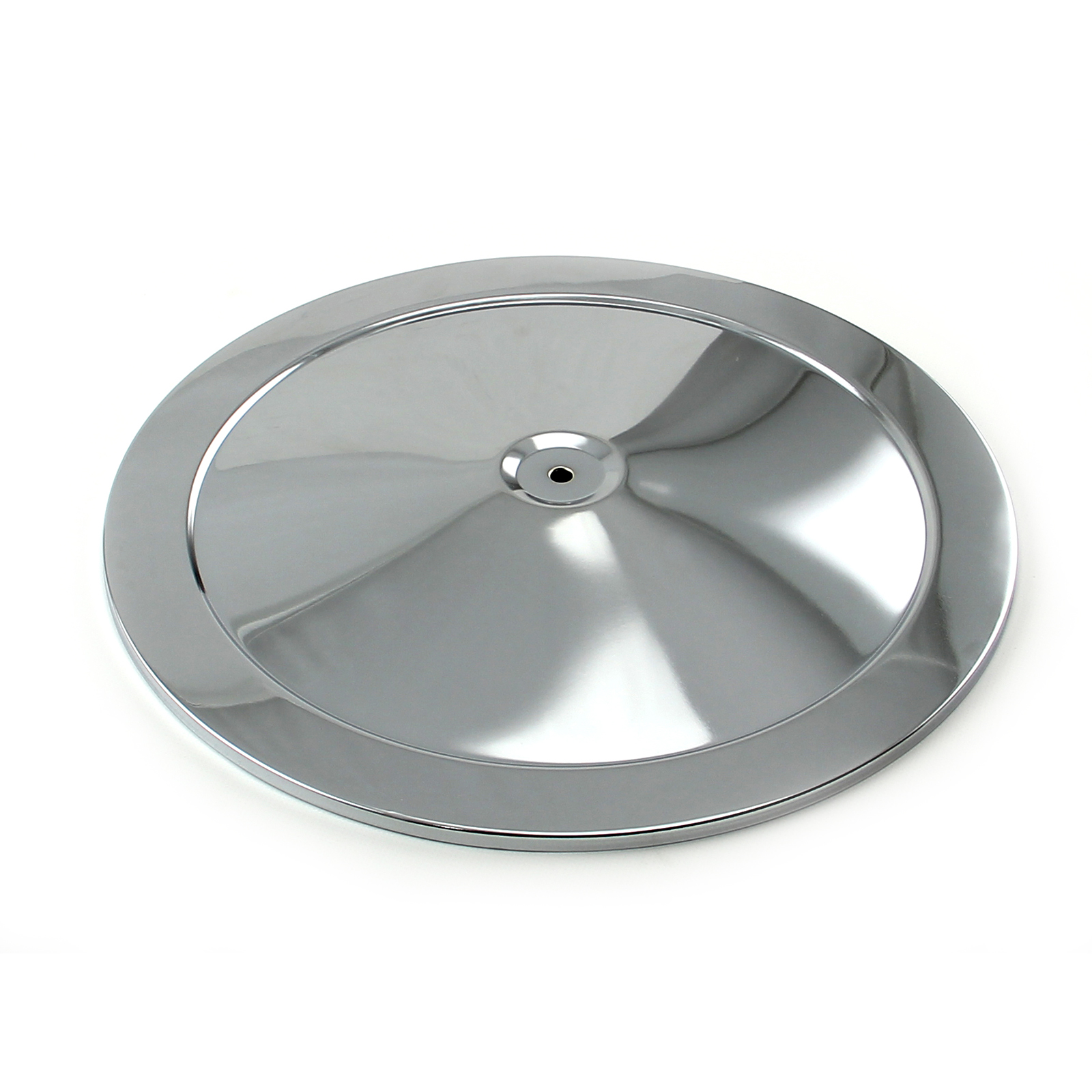 """14"""" Chrome Muscle Car Style Air Cleaner Top"""