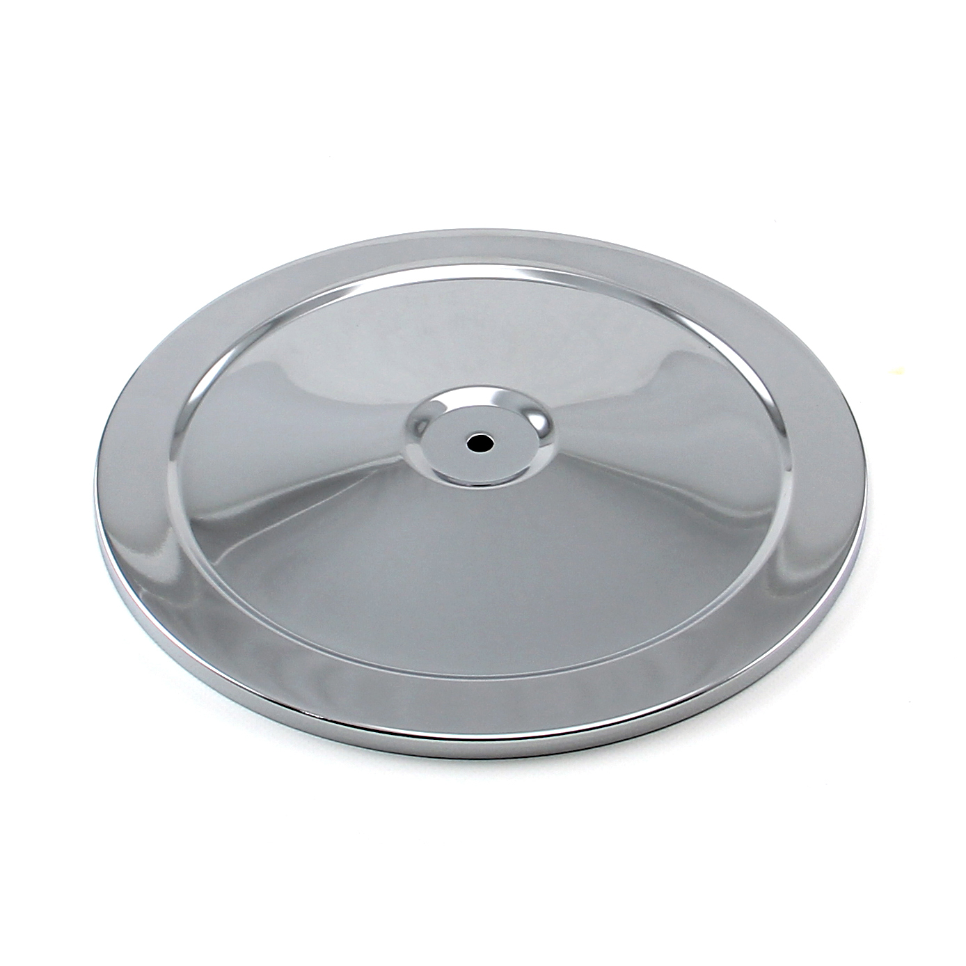 "10"" Chrome Muscle Car Style Air Cleaner Top"