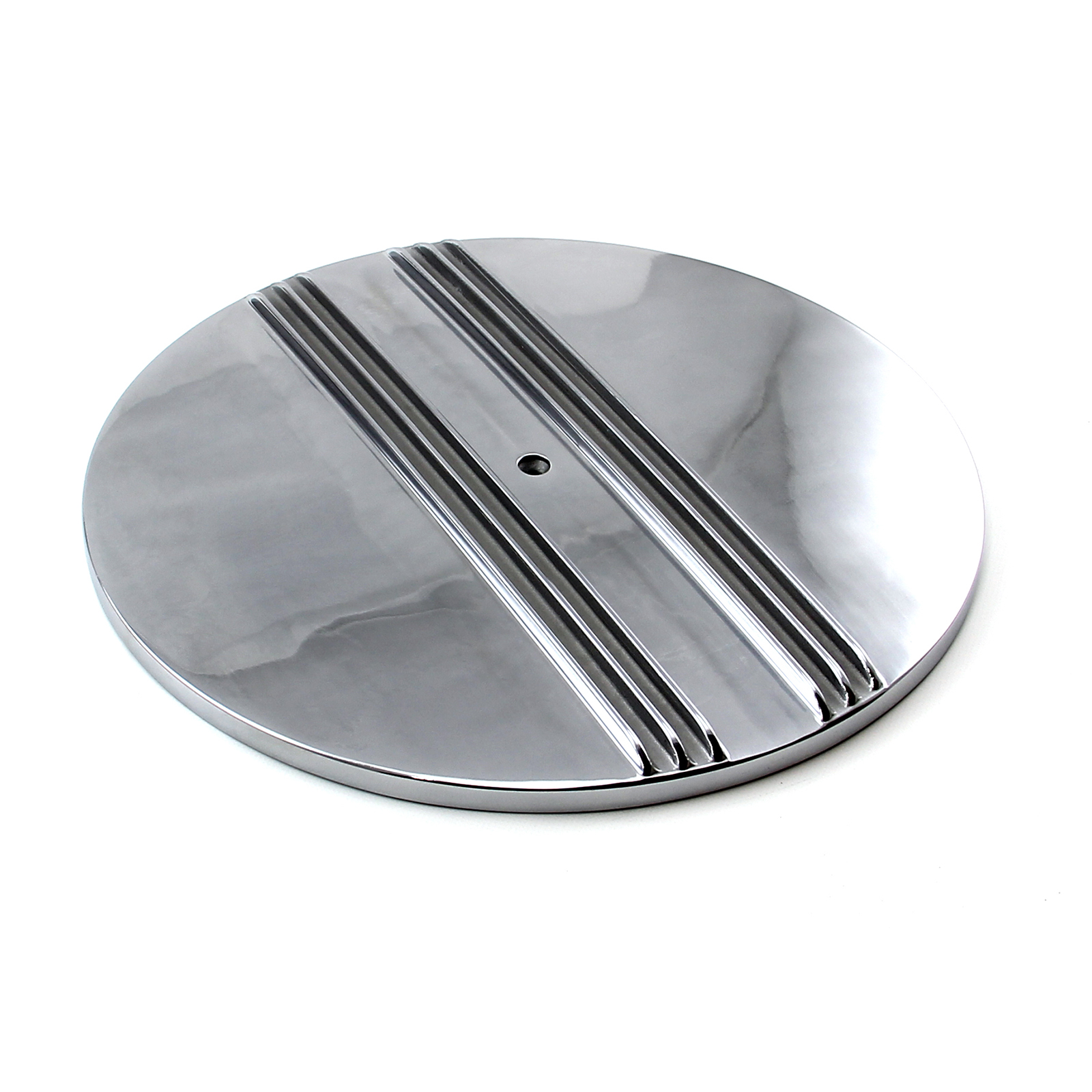 "14"" Aluminum Classic Finned Center Air Cleaner Top"