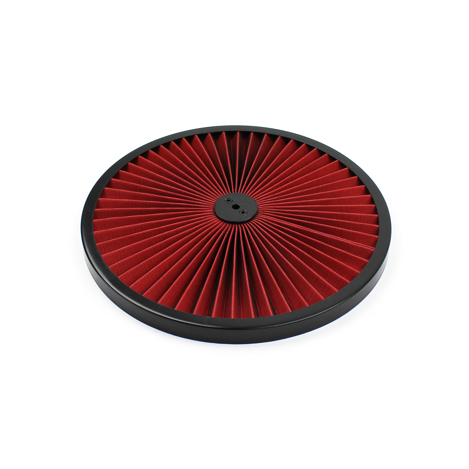 "14"" Extreme Style w/ Black Outer Ring Washable Air Cleaner Top"