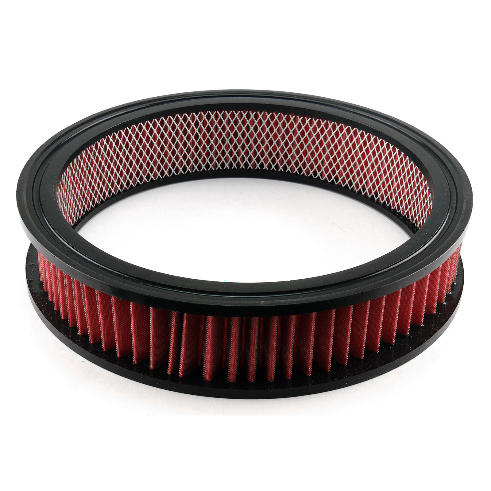 "14"" x 3"" Red Washable Air Filter Element Only"