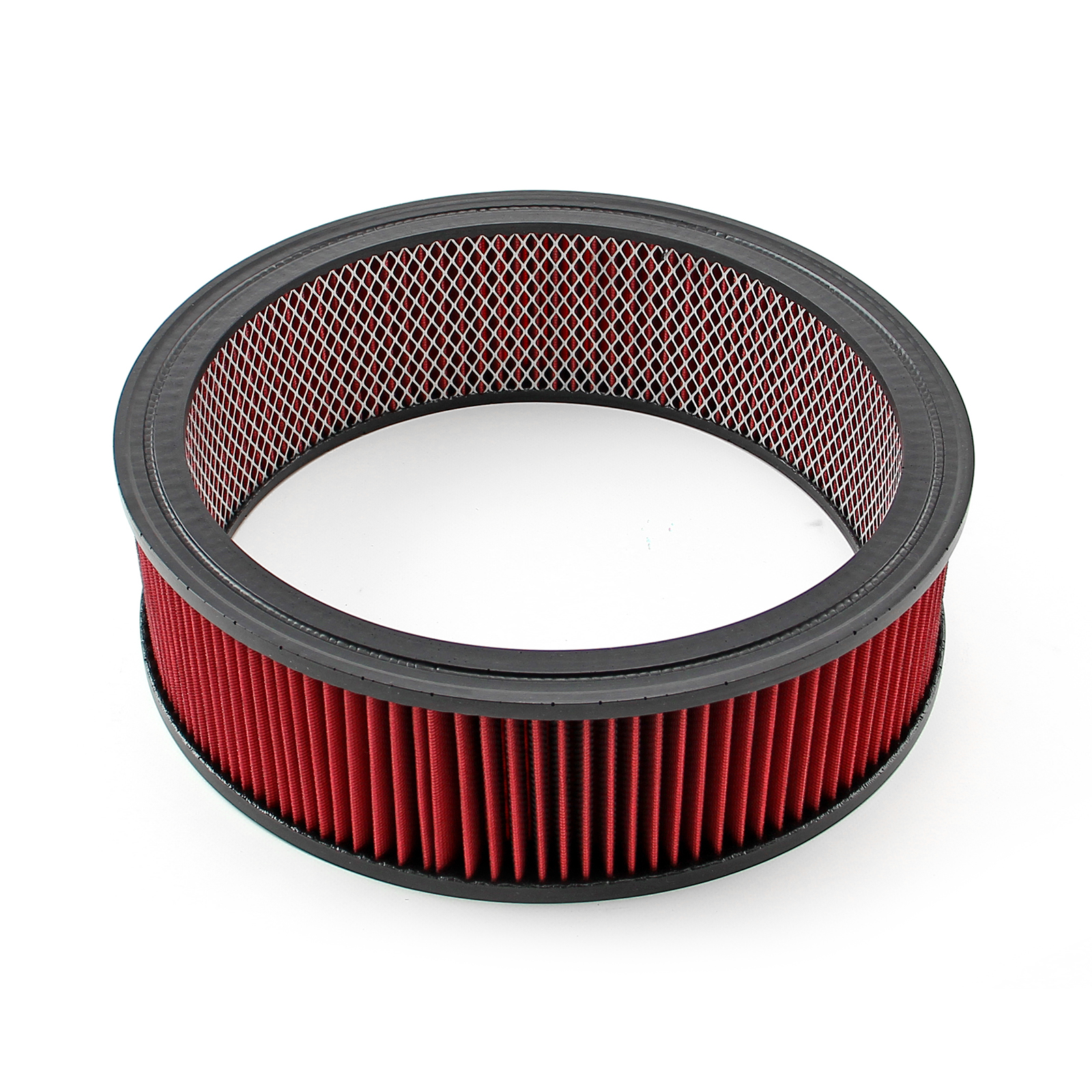 "14"" x 4"" Red Washable Air Filter Element Only"