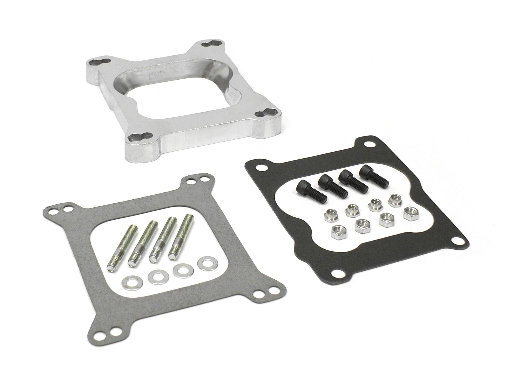 "1"" Aluminum Carb Adapter Holley to Quadrajet Q-Jet and Spreadbore"