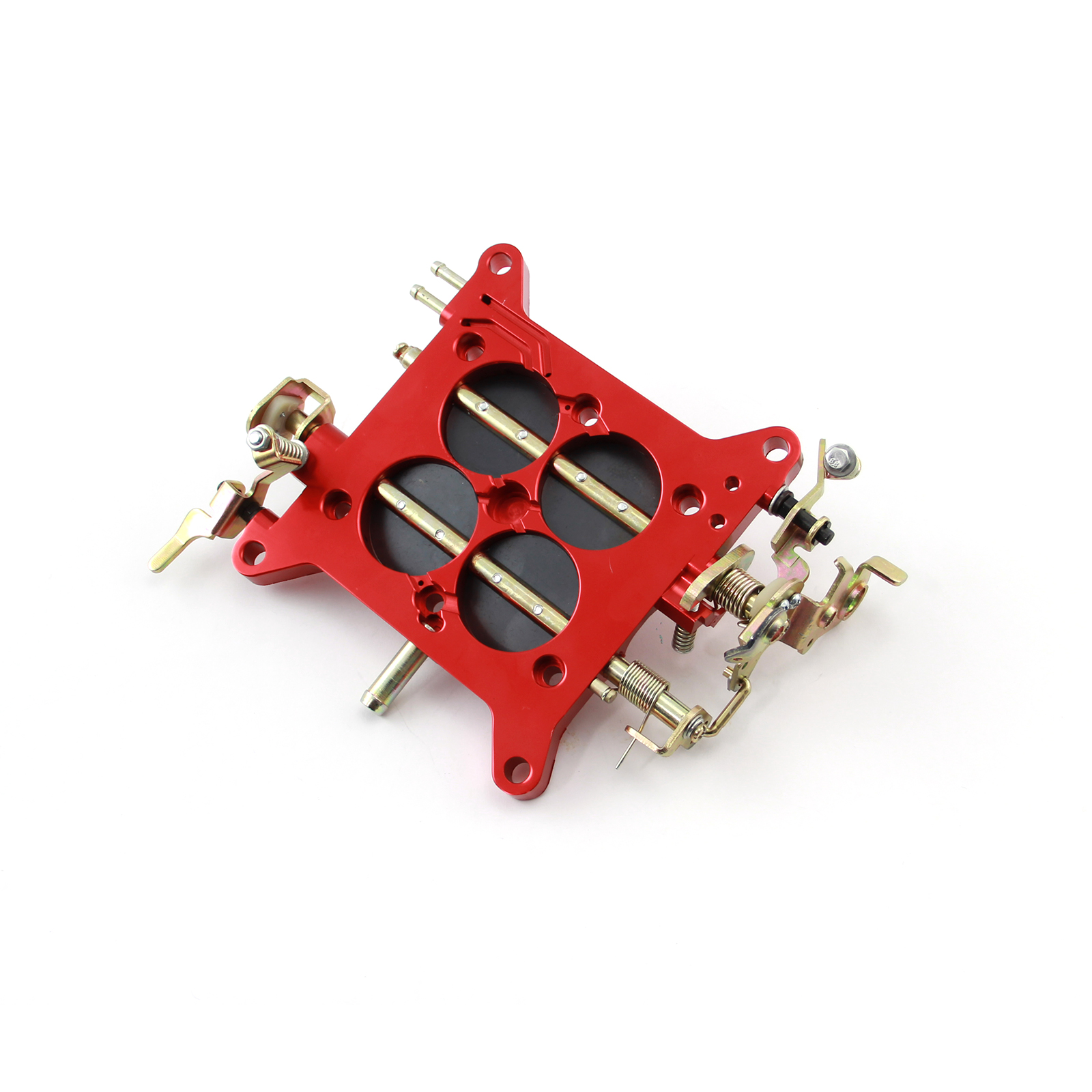Billet Aluminum Carburetor Base Plate 850-950Cfm Holley Quickfuel Double Pumpers