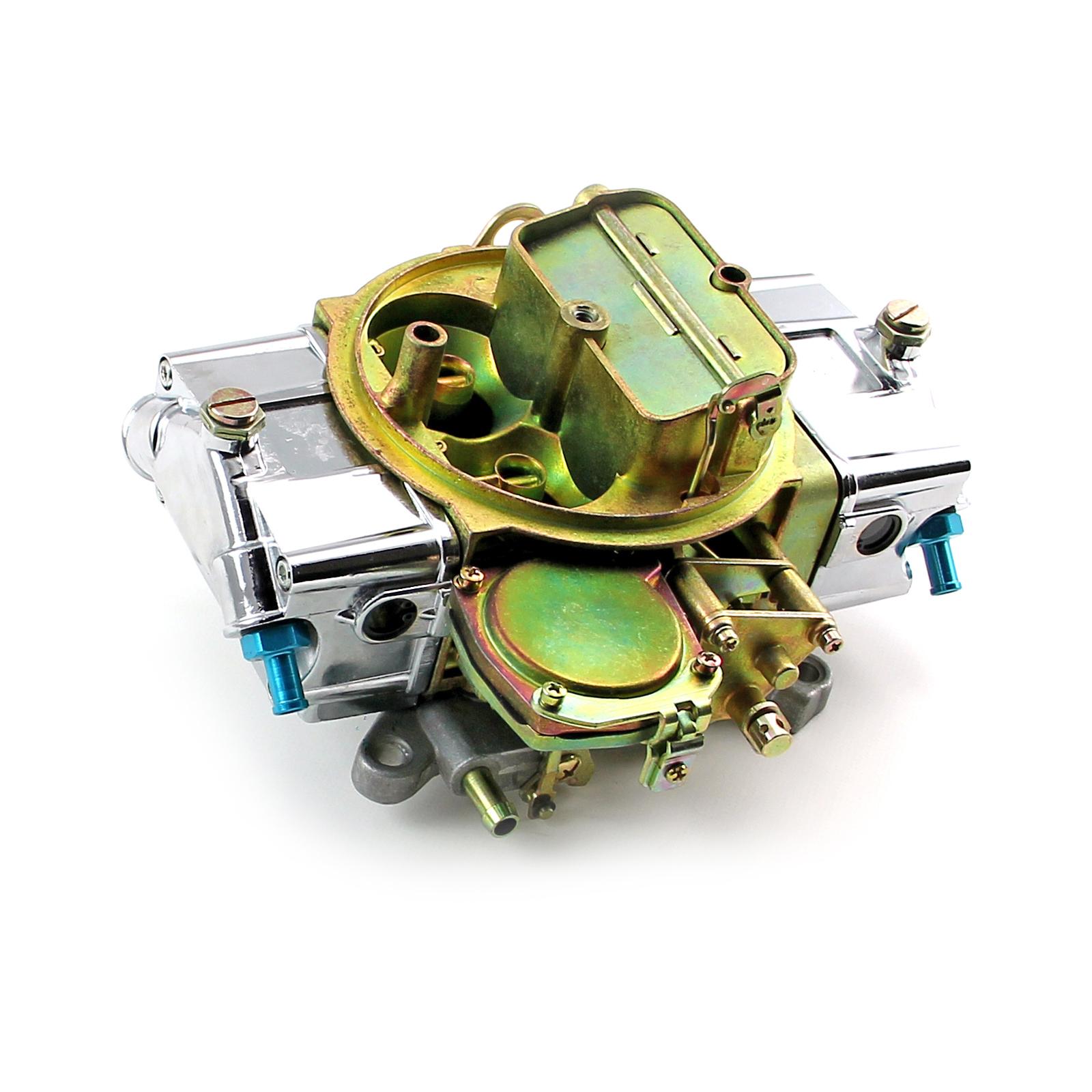 600 CFM 4 Barrel Vacuum Secondary Carburetor w/ Manual Choke USA BUILT