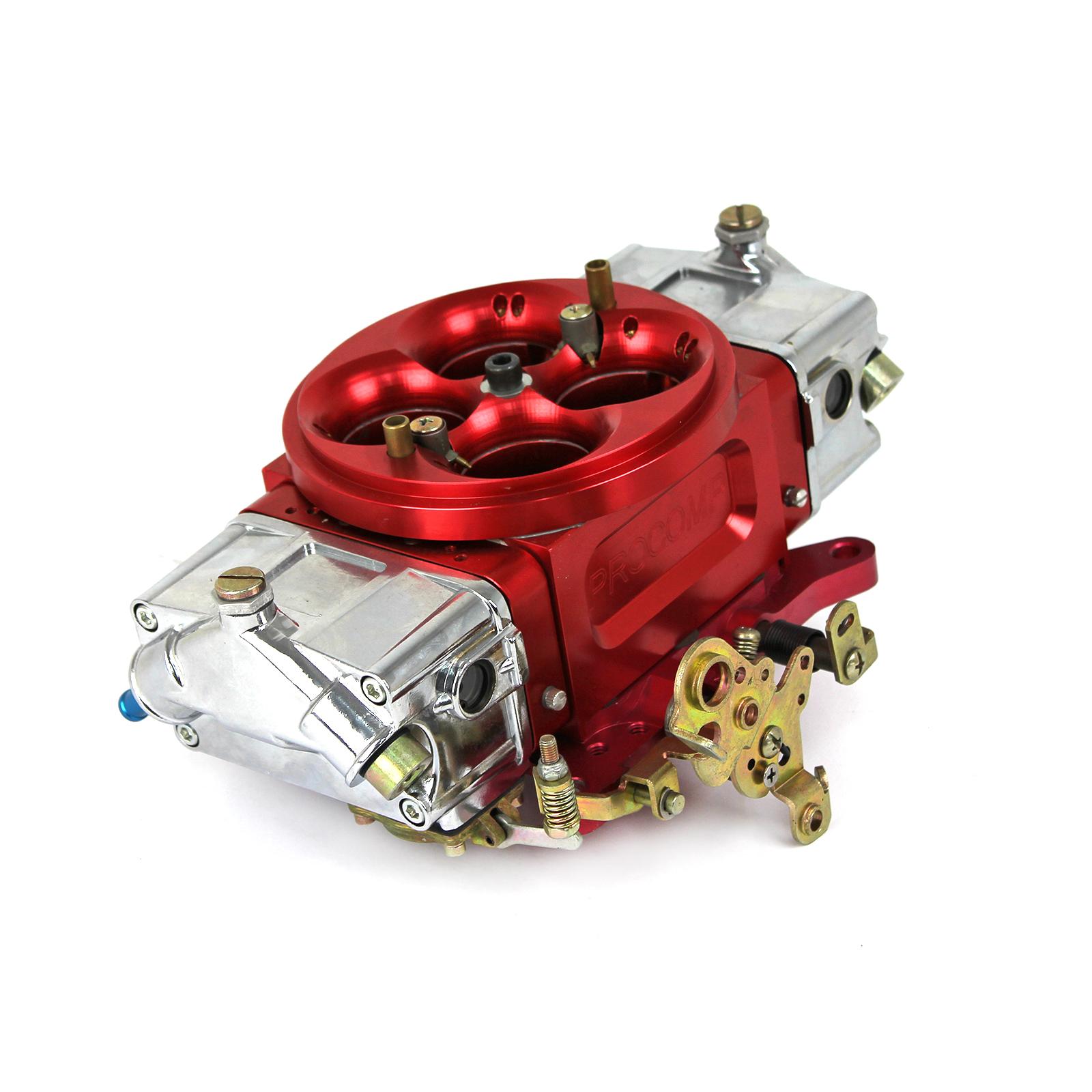 950 CFM Full Billet 4-Bbl Mechanical Sec Double Pumper Race Bred Carburetor 2C