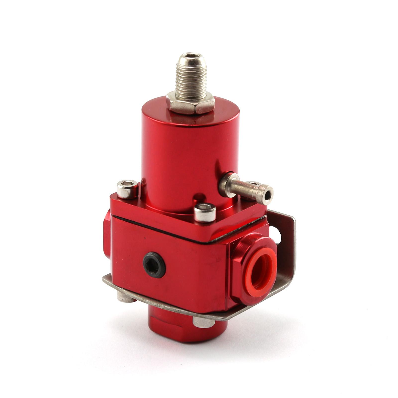 Universal - 10 AN EFI Fuel Pressure Regulator Red