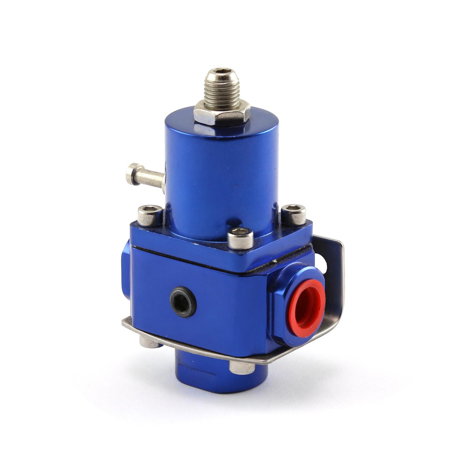 Universal - 10 AN EFI Fuel Pressure Regulator Blue