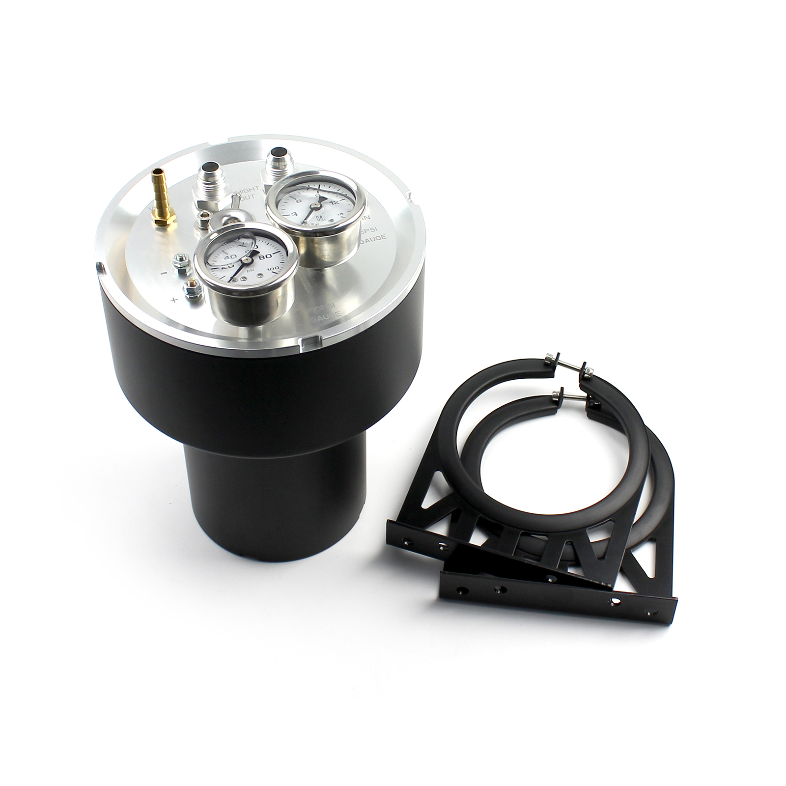 Universal EFI High Pressure Sump Fuel Command Center Black