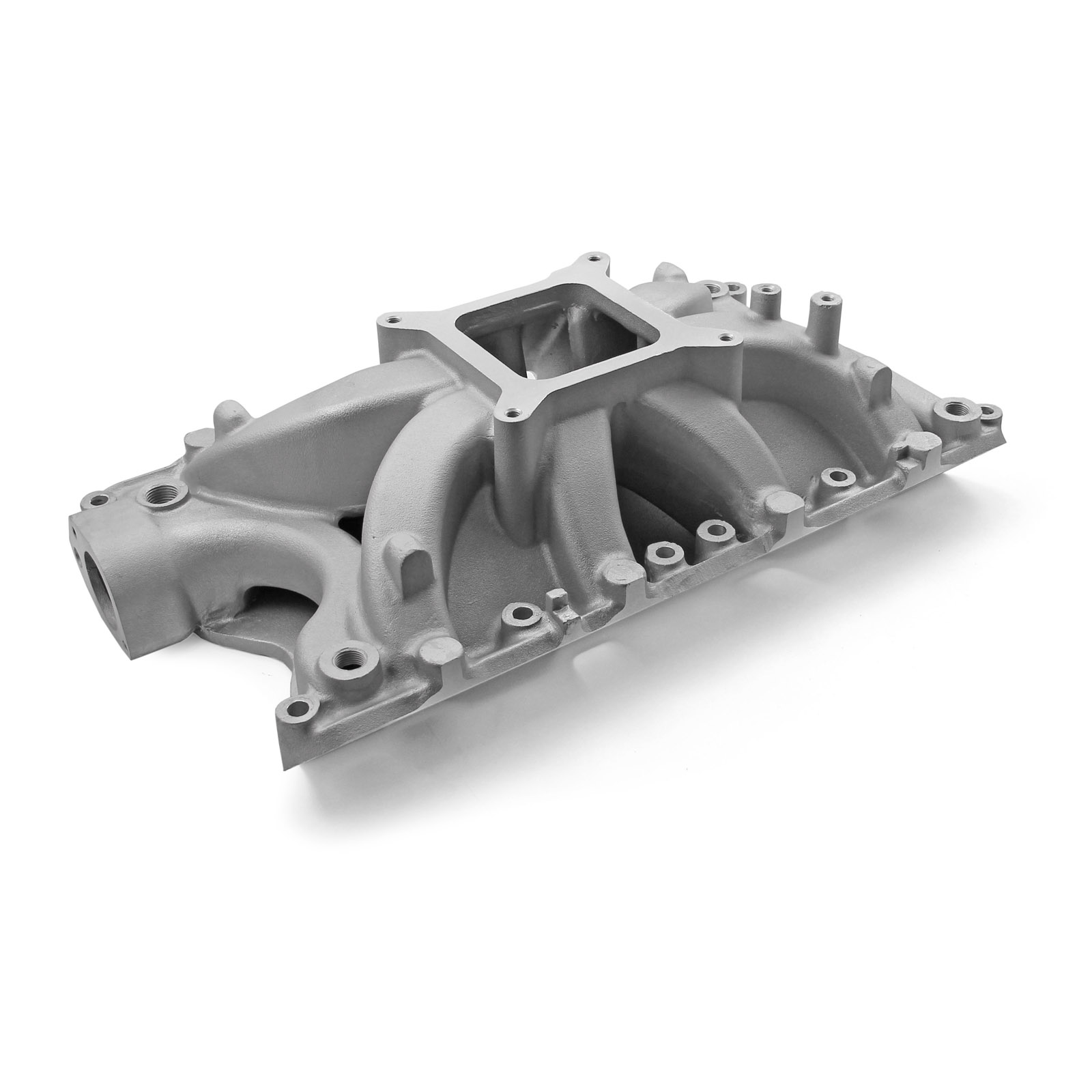 Ford 351W Windsor Shootout High Rise Intake Manifold Satin