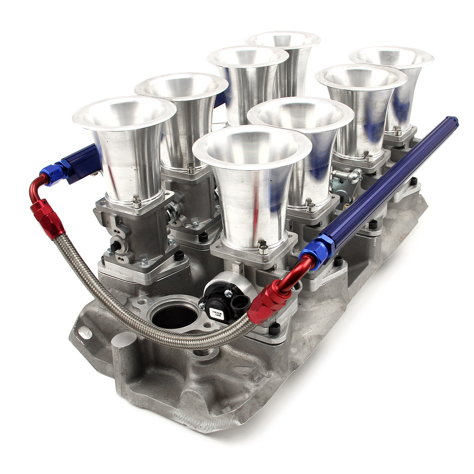 Stock Ls1 Intake Height: Chevy SBC 350 Downdraft EFI Stack Intake Manifold System