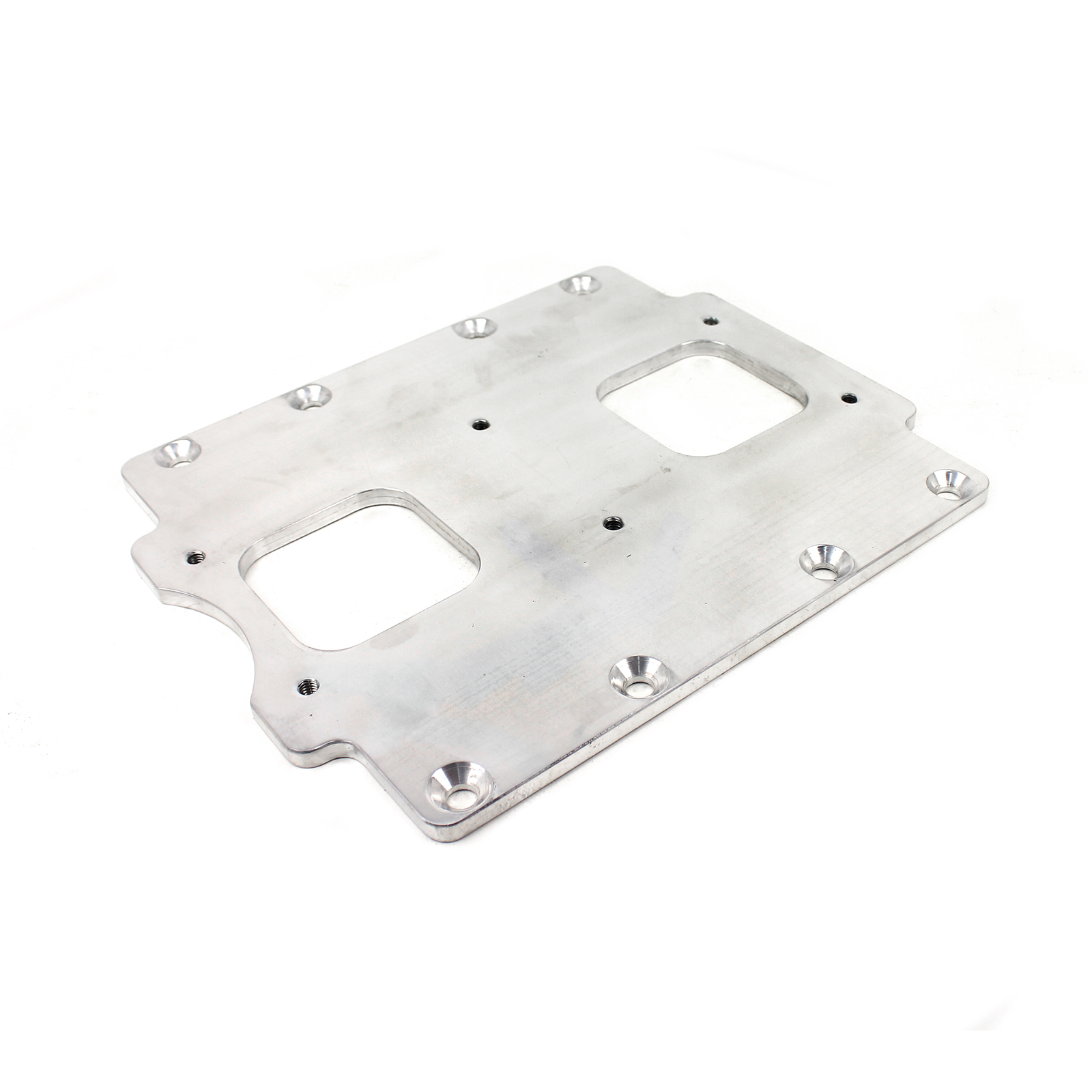 Universal Supercharger Intake Manifold 6/71 to Twin Carburetor Adapter Plate Only