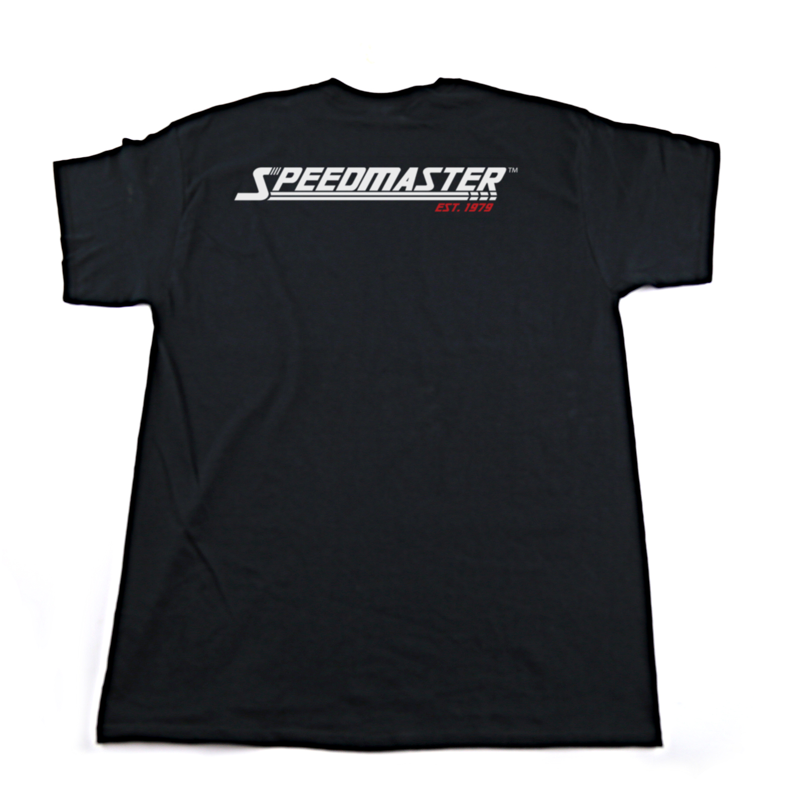 Speedmaster Black Cotton T-Shirt - SMALL S