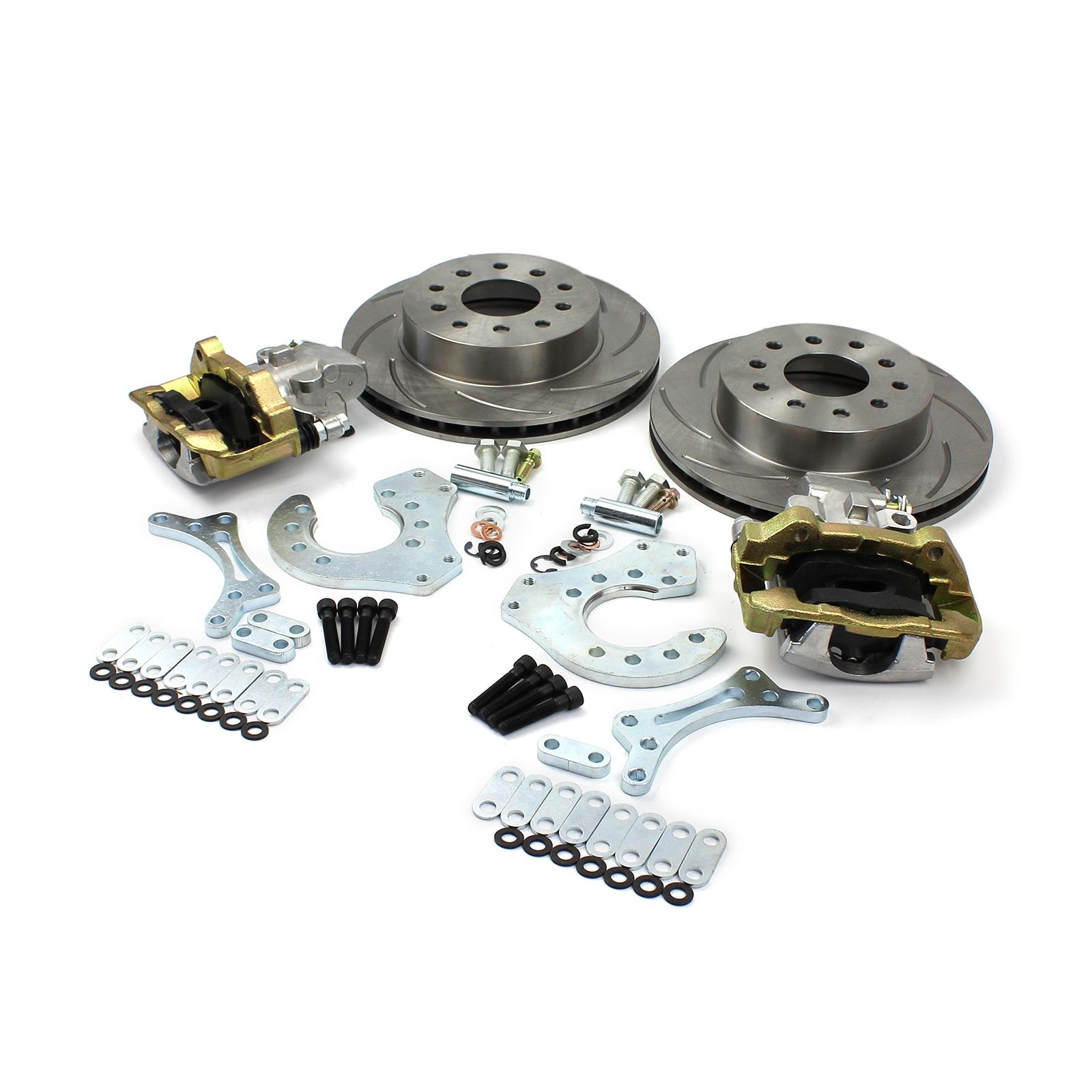 "Brake Kit For Most 15"" Aftermarket Wheels w/Built In E-Brake"
