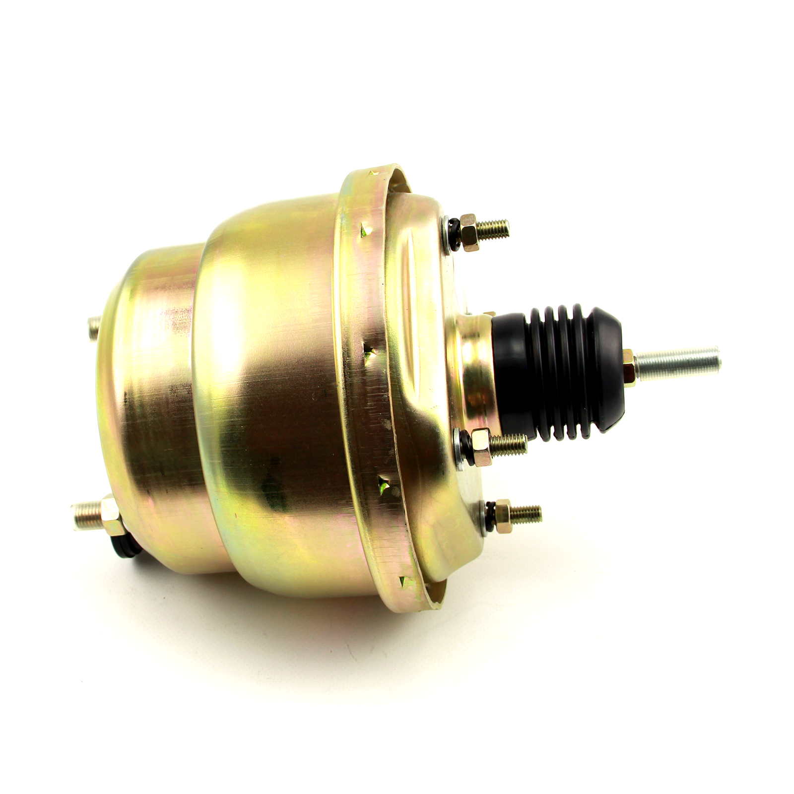 "7"" Universal Dual Diaphragm Brake Booster Zinc"