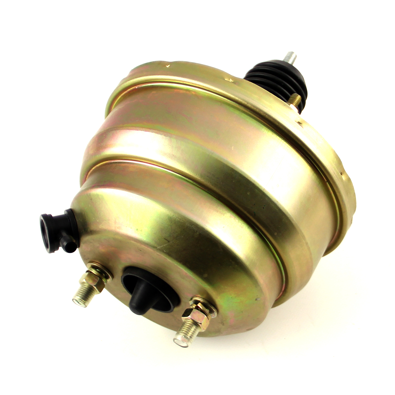 "8"" Universal Dual Diaphragm Brake Booster Zinc"