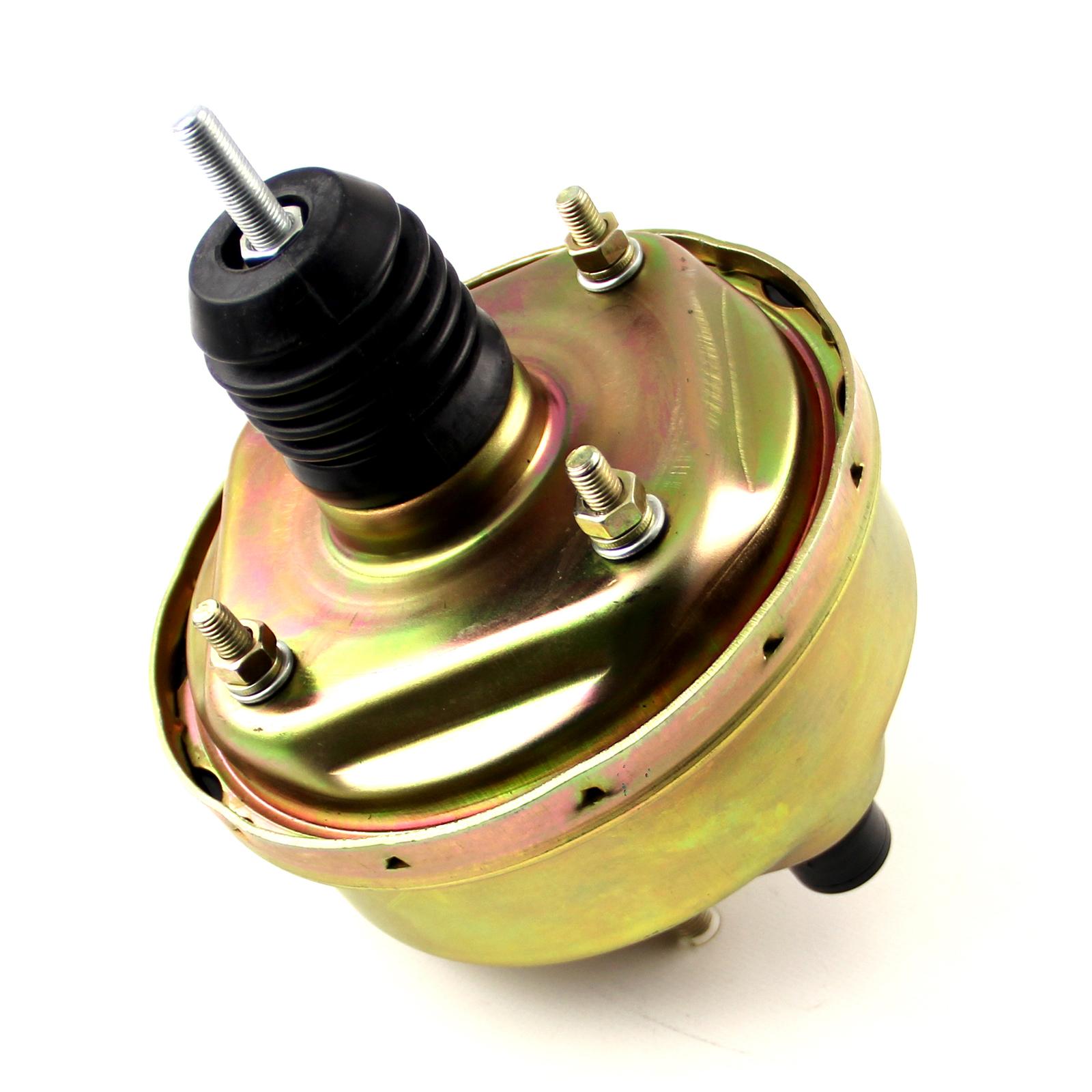 "7"" Universal Single Diaphragm Brake Booster Zinc"