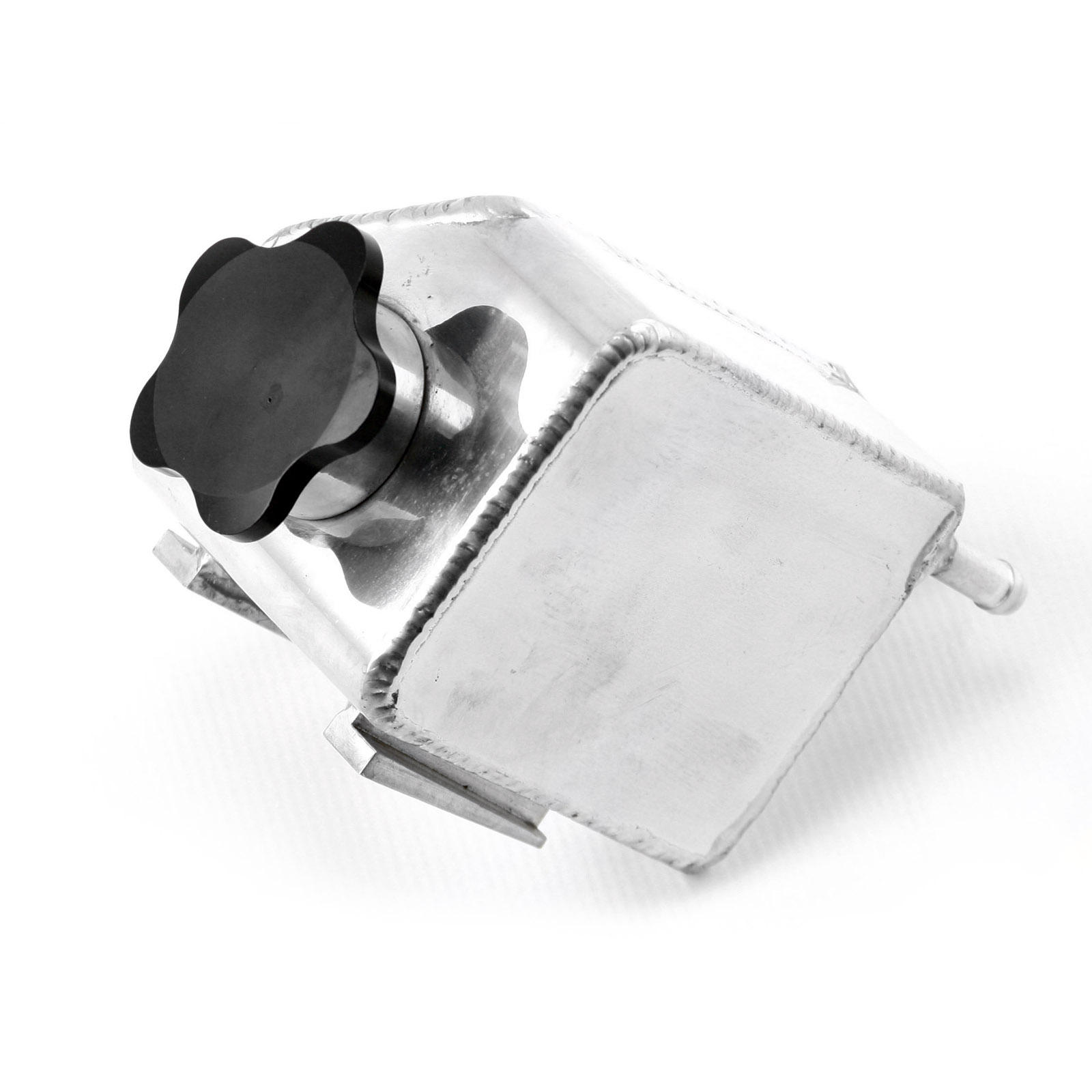 Dodge 2005-12 2.7L to 6.1L Fabricated Aluminum Power Steering Reservoir Polished