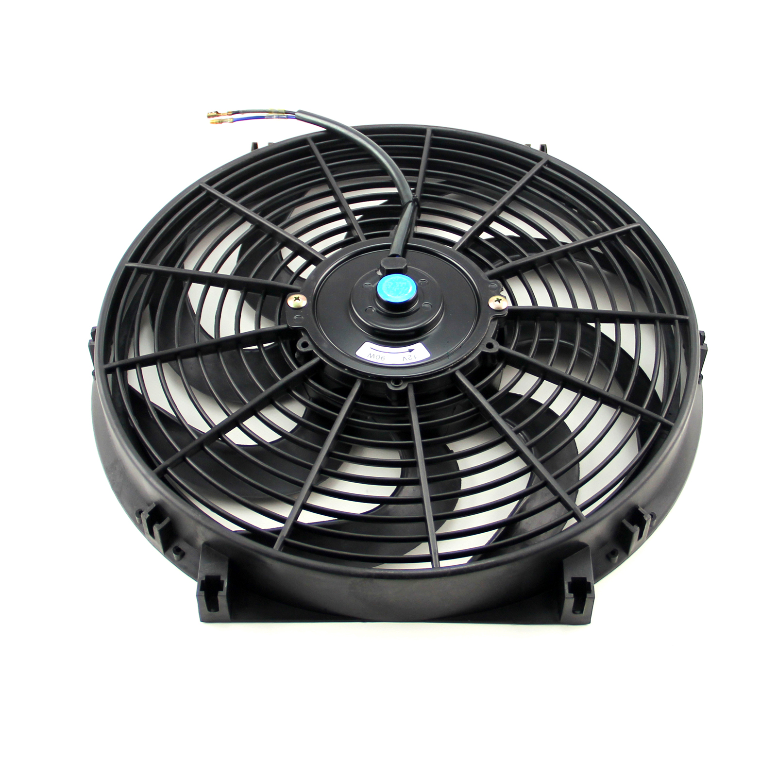 """14"""" Reversable 12V 'S' Blade Radiator Electric Thermo Fan"""