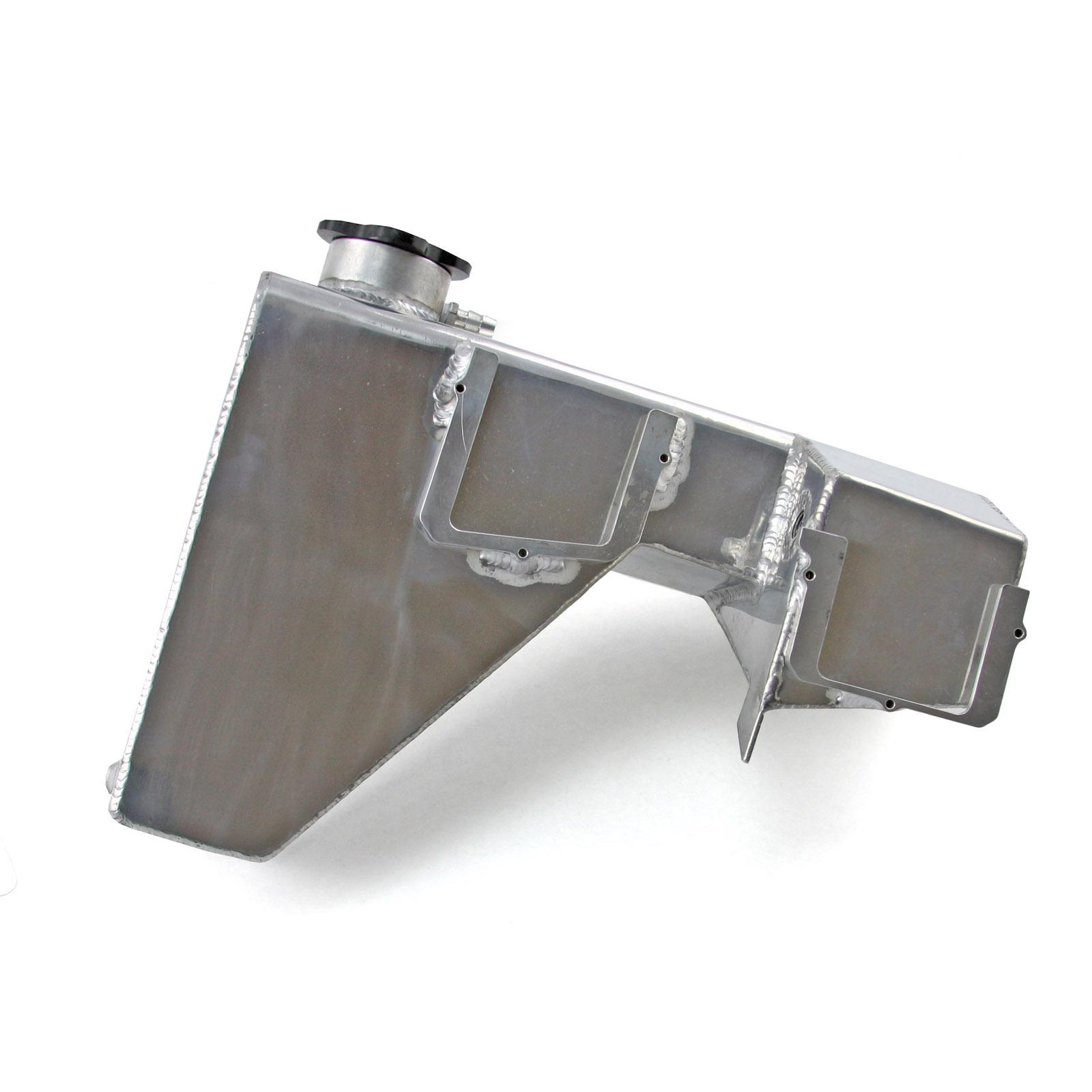 "Speedmaster Engine Coolant Reservoir PCE188.1001; Stainless Steel 12.000/"" 2.000/"""
