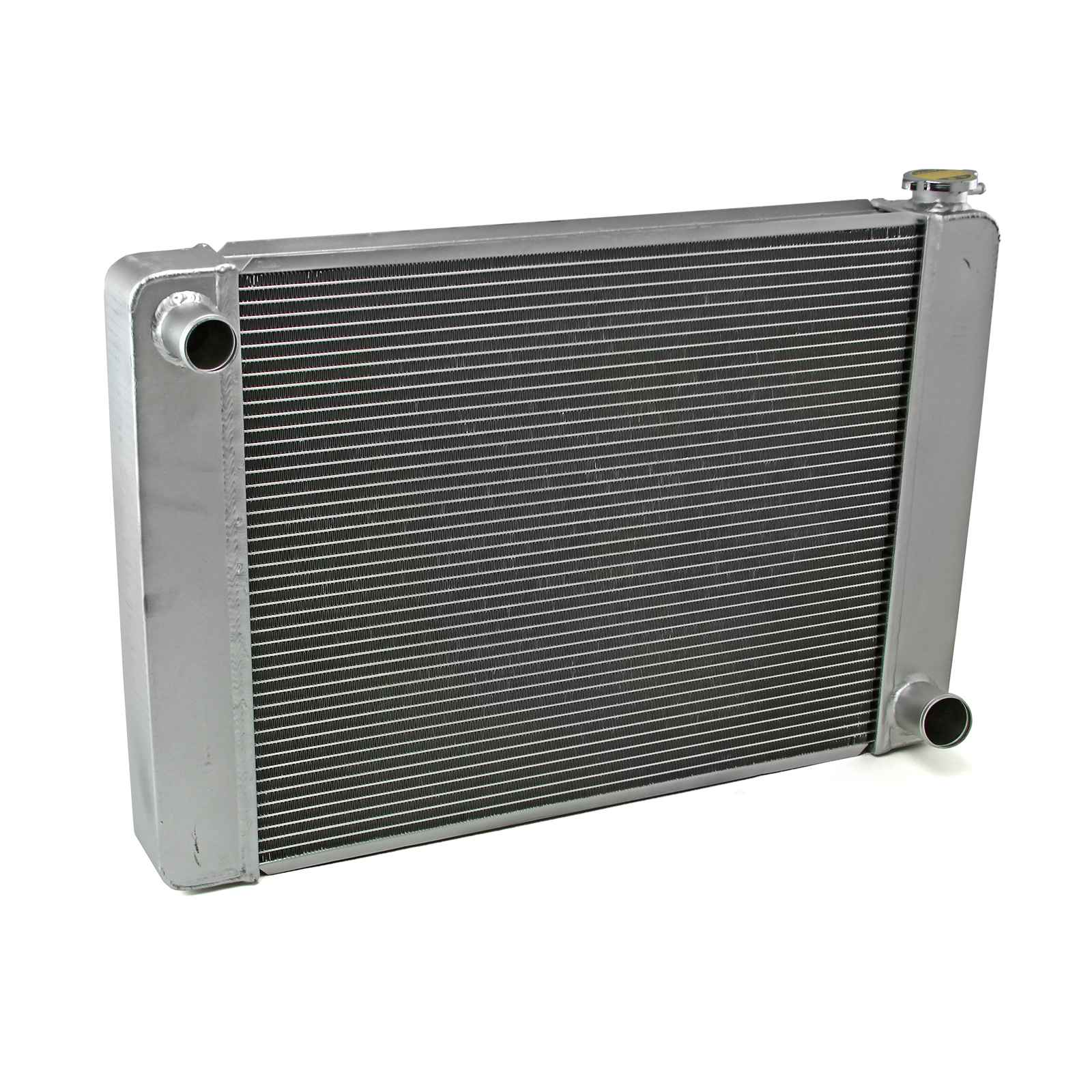 Ford Mopar 28x19x2.2 Aluminum Radiator (TR-BL O/L) Satin