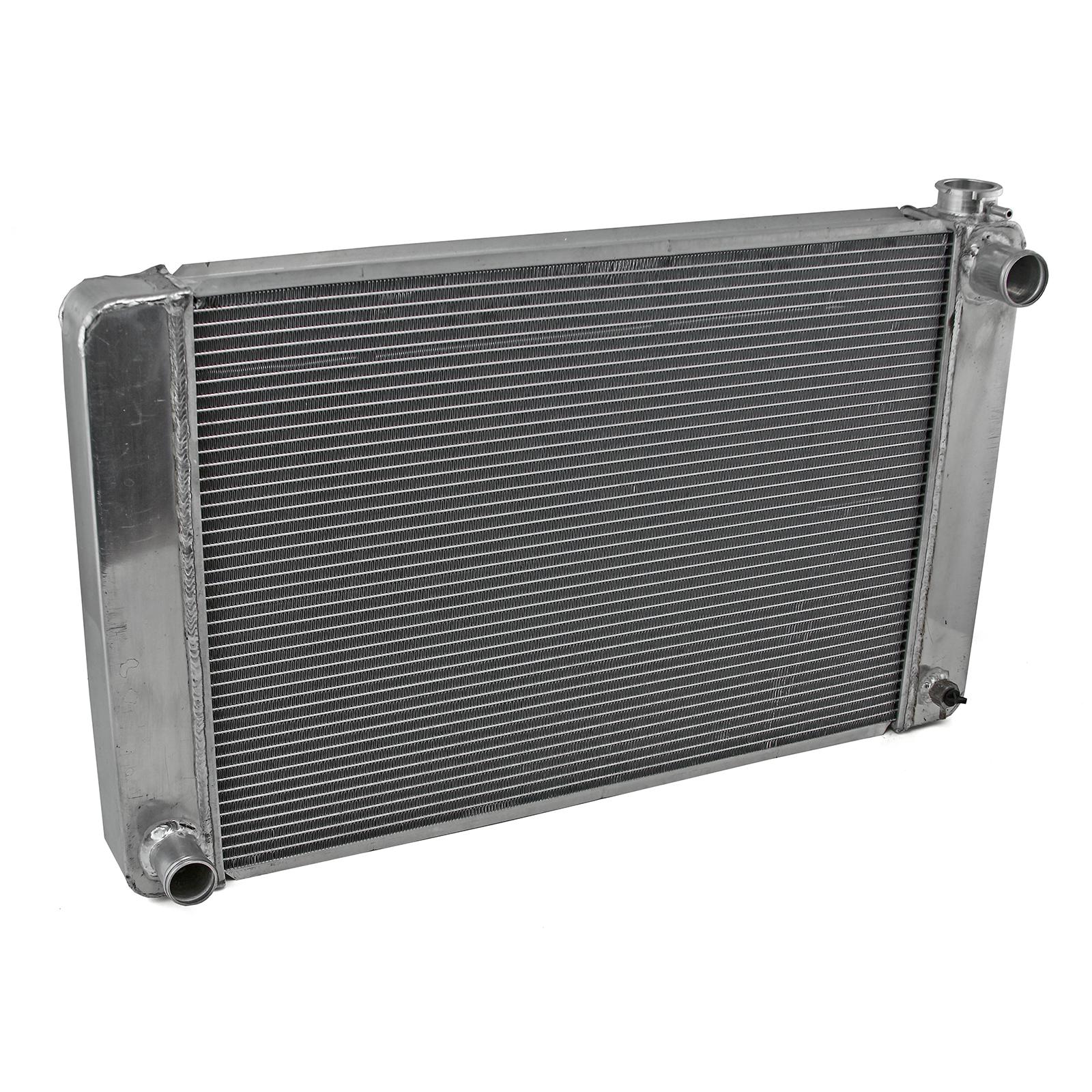 Ford Mopar 29x19x2.2 Aluminum Radiator (TR-BL O/L) Satin