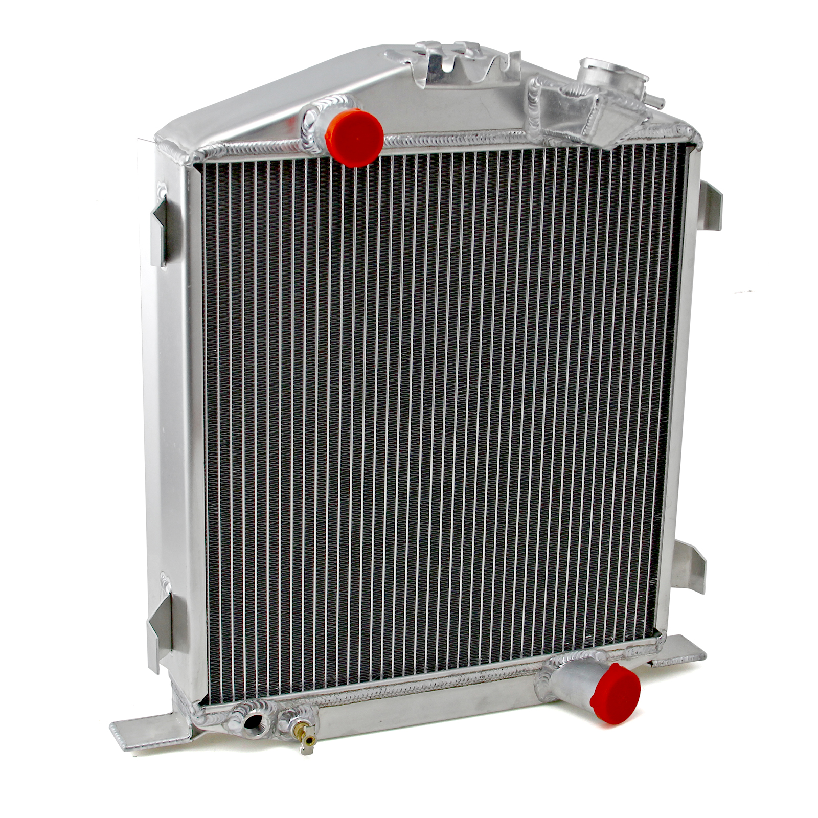 Ford Roadster High Boy 1932 Aluminum Radiator Polished (Short)
