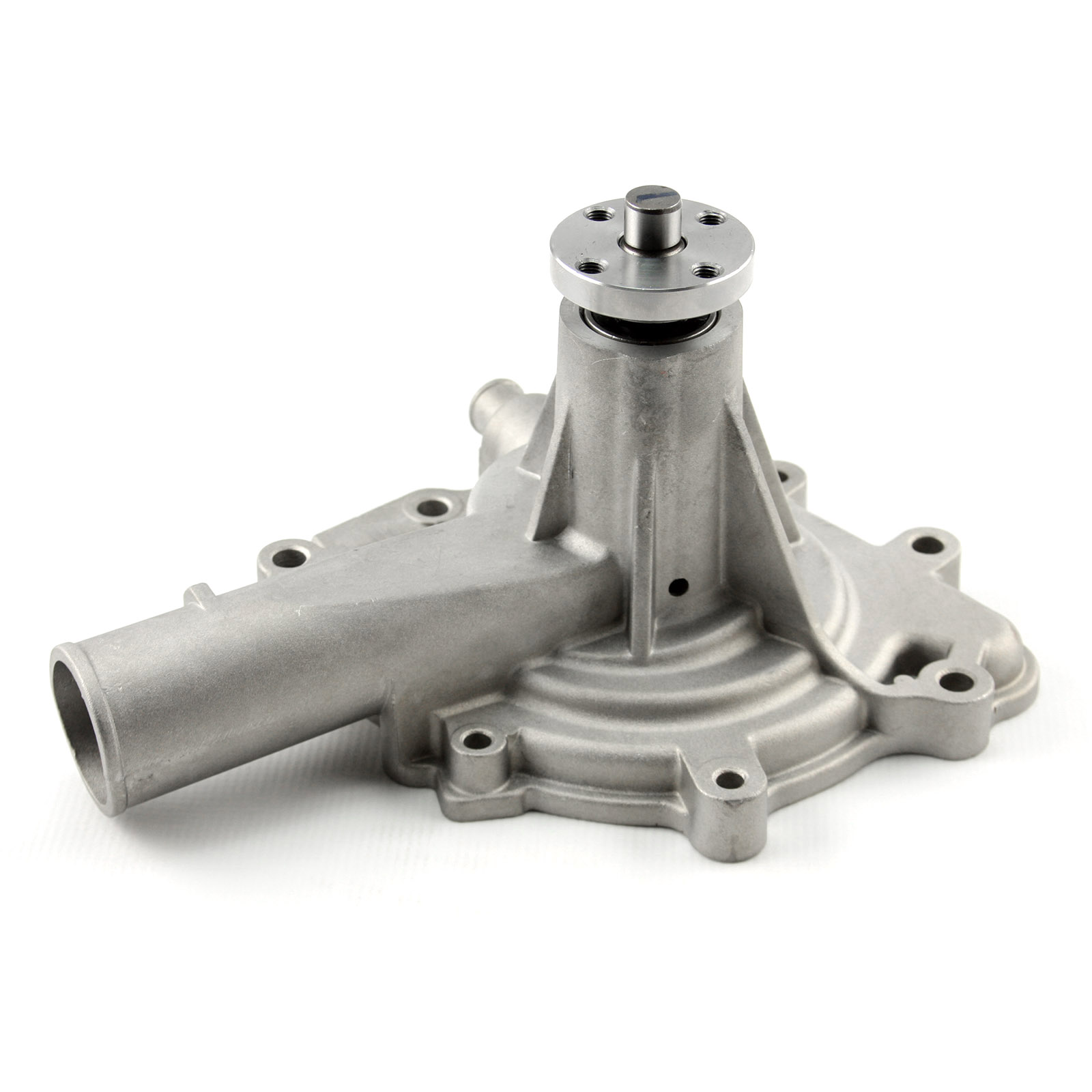 Oldsmobile High Volume Aluminum Short Water Pump Satin