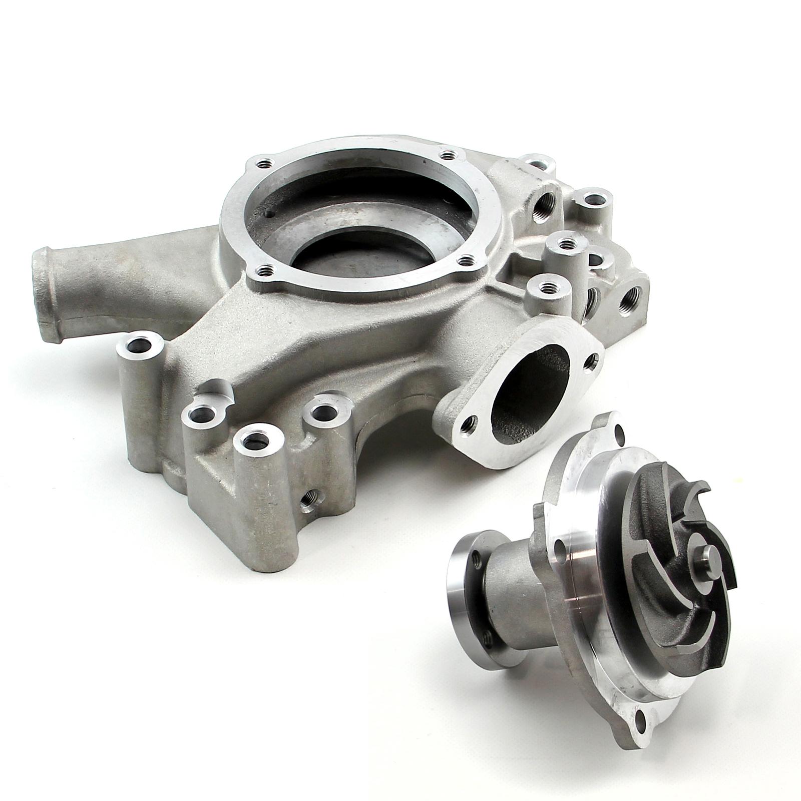 Chrysler Mopar BB 360 383 440 High Volume Aluminum Long Water Pump