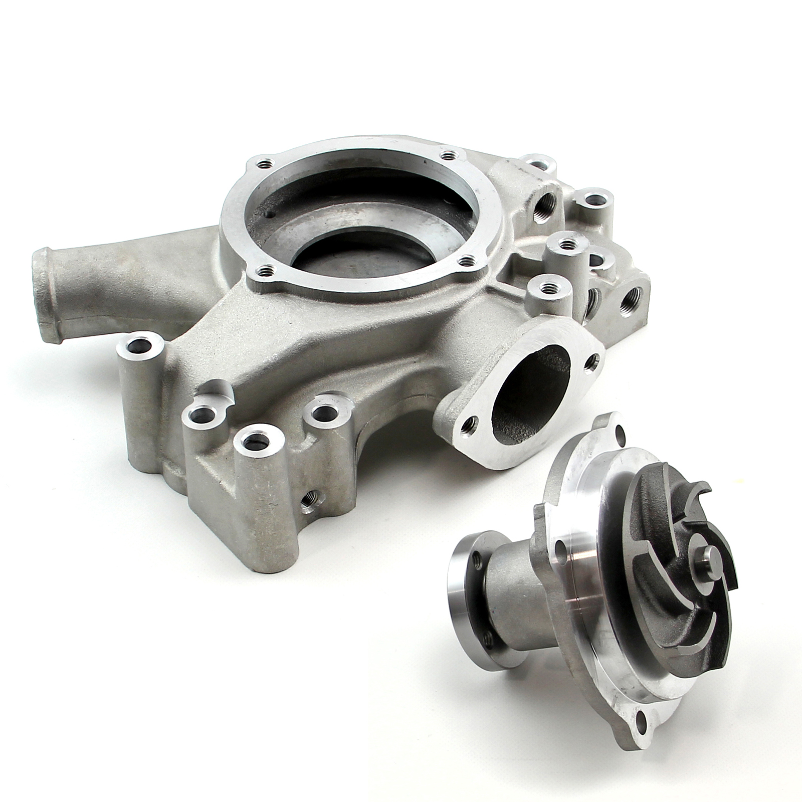 Chrysler Mopar BB 360 383 440 High Volume Aluminum Water Pump