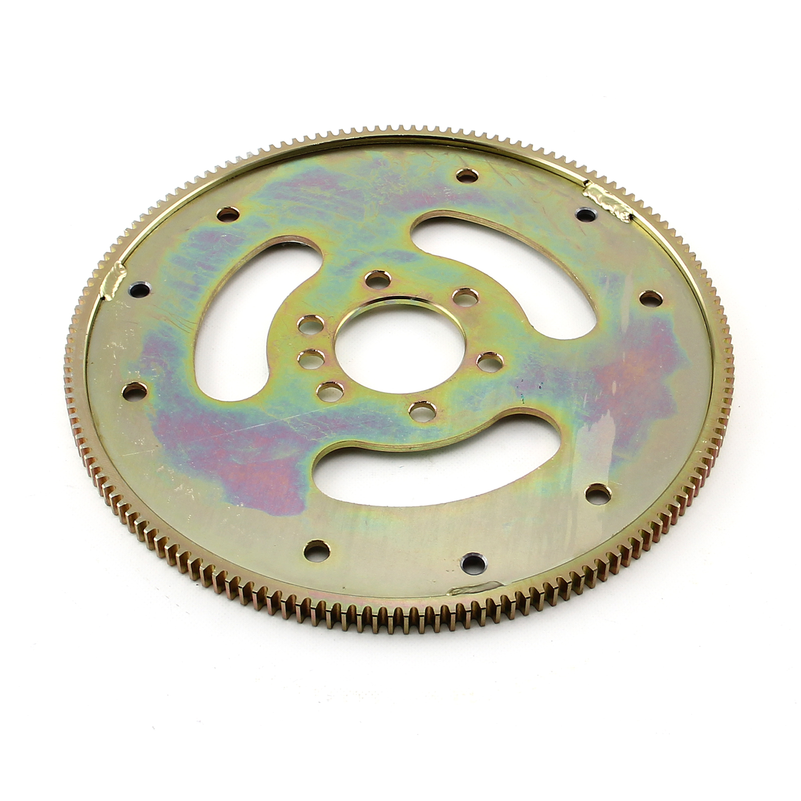 "Chevy SBC 350 2Pc Rms 153 Tooth 10"" Internal Balance Heavy Duty Flexplate"