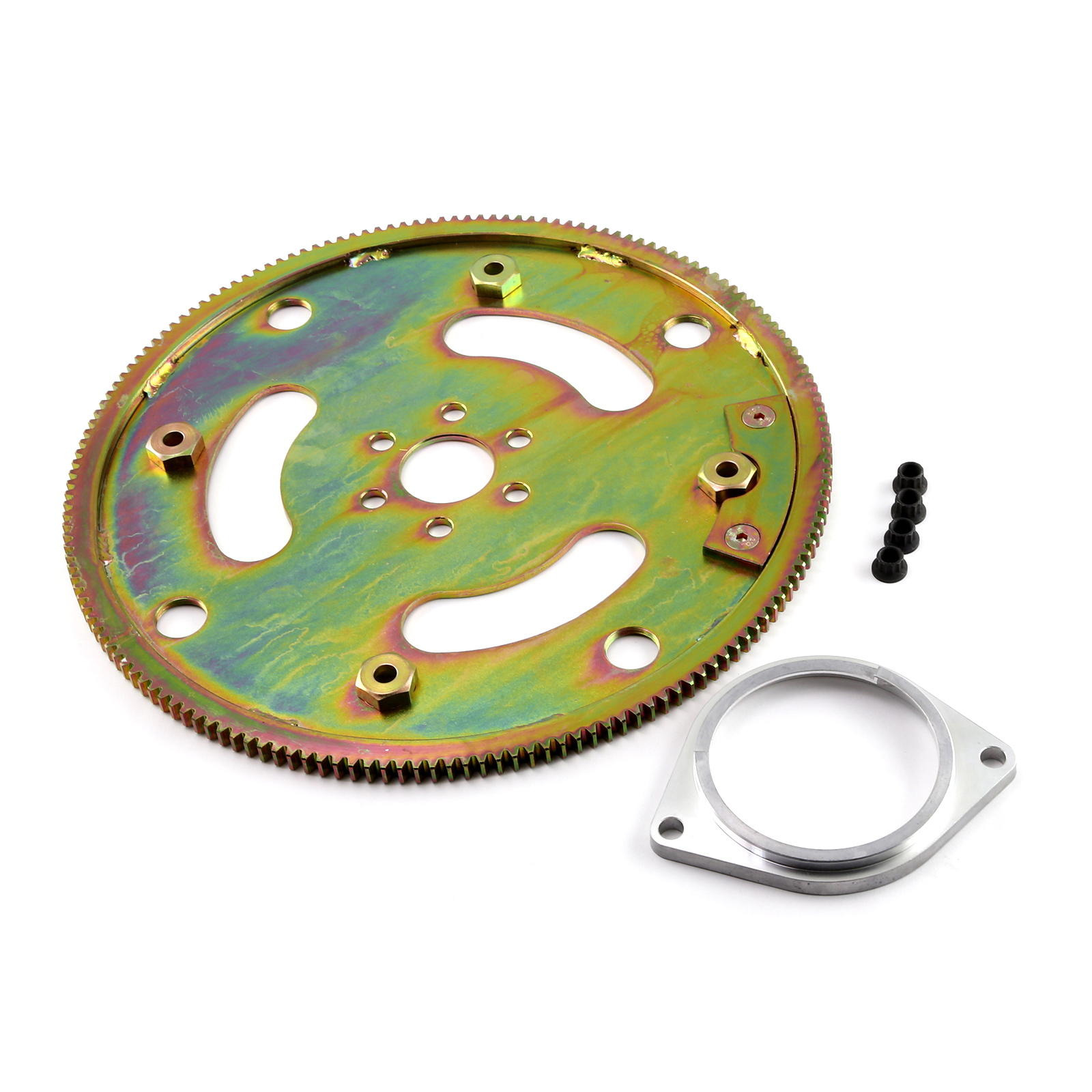 Ford SB 289 302 351 351C Windsor 164 Tooth 28Oz Balance Heavy Duty Flexplate Kit