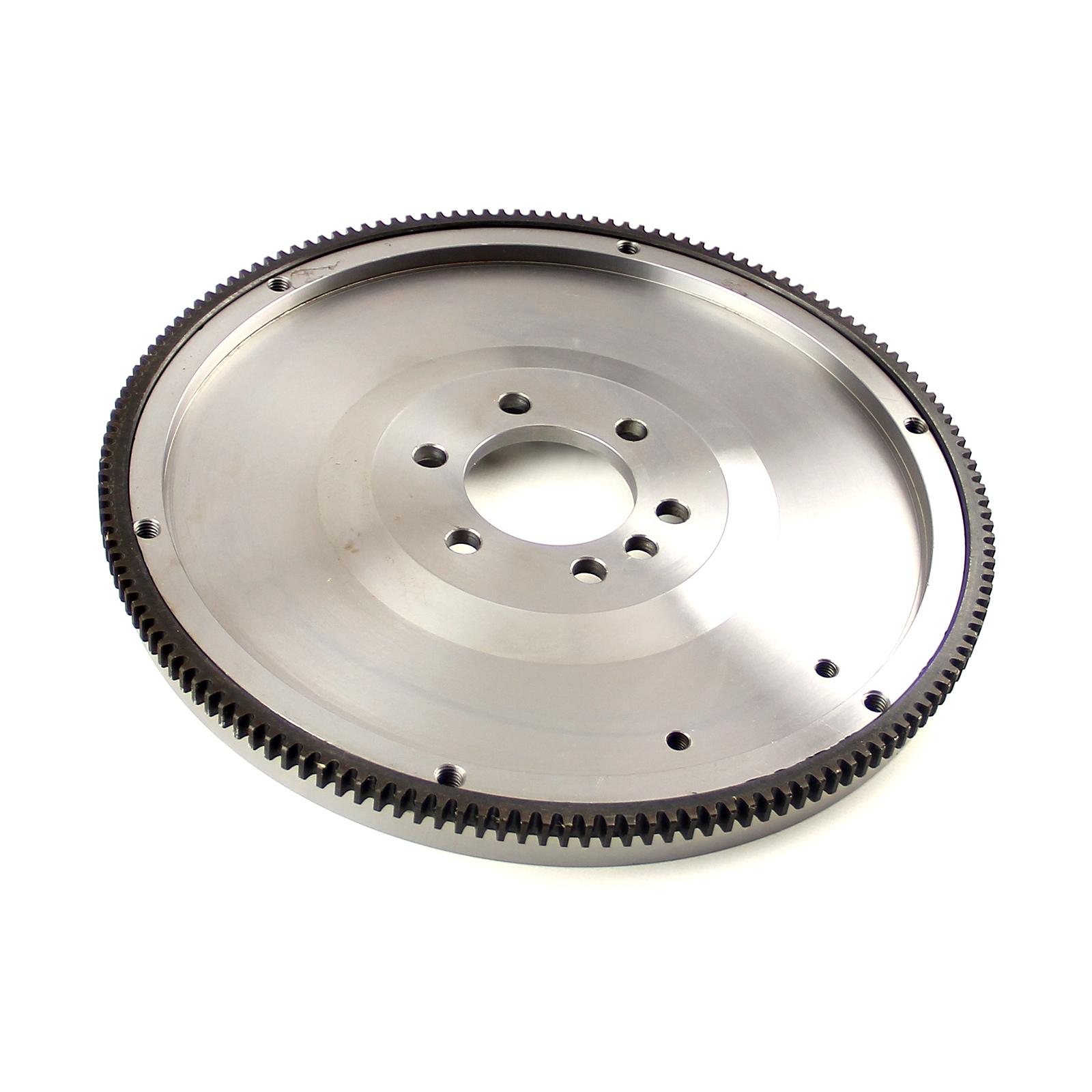 "Chevy SBC 350 2Pc Rms 153 Tooth 10"" Internal Bal. Billet Steel SFI Flywheel"