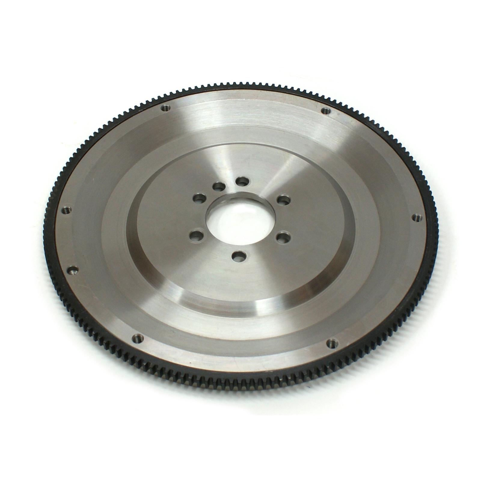 "Chevy SBC 350 2Pc RMS 168 Tooth 11"" Internal Bal. Billet Steel SFI Flywheel"