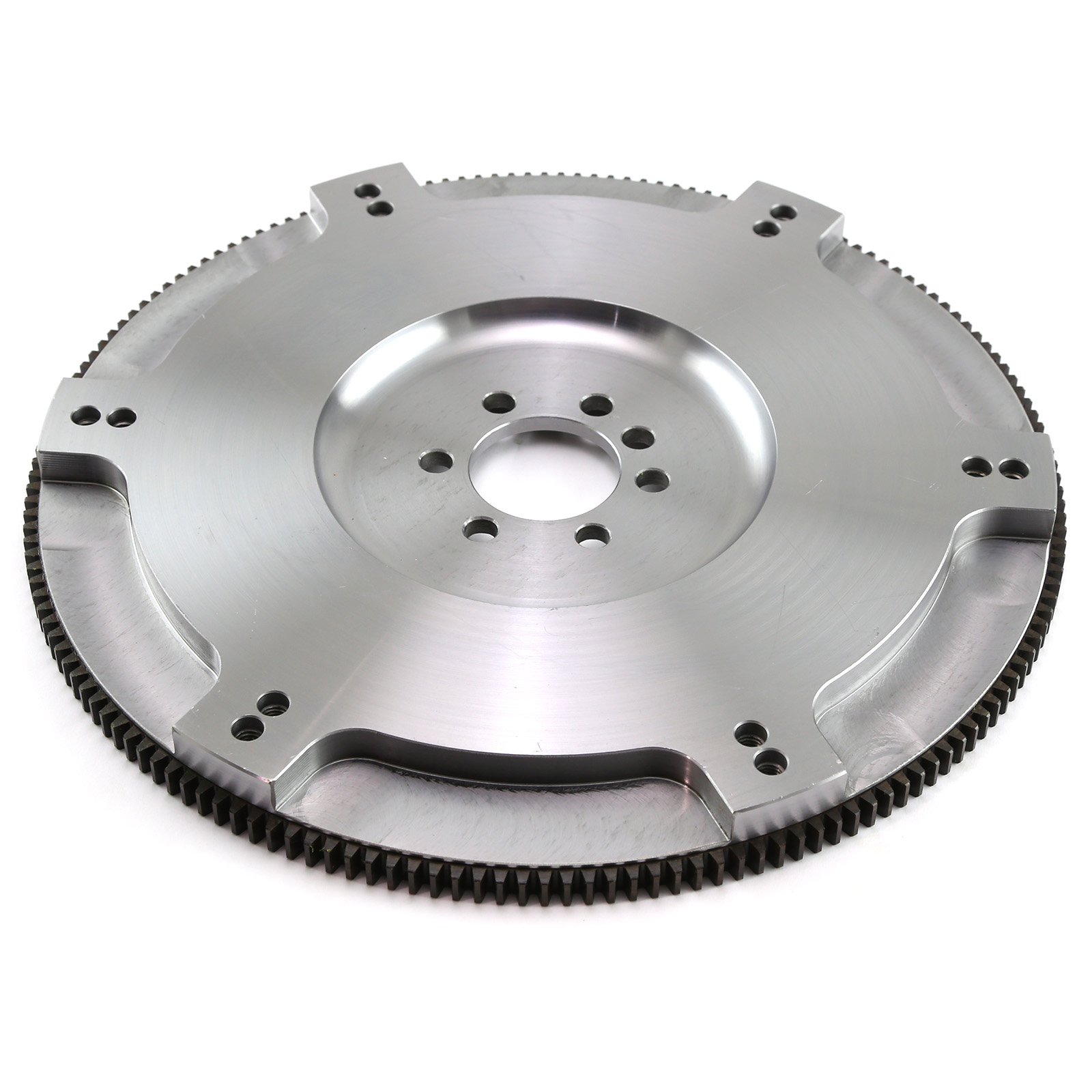 Chevy SBC 350 Late 1Pc Rms 168 Int/Ext Billet Steel Light SFI Flywheel
