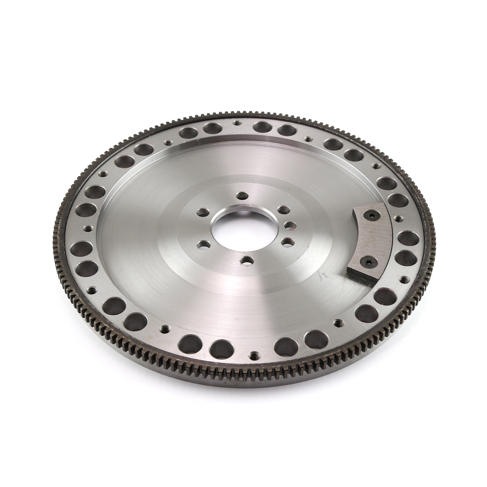 "Chevy SBC 350 2Pc Rms 168 Tooth 11"" Billet Steel SFI Flywheel Int/Ext"