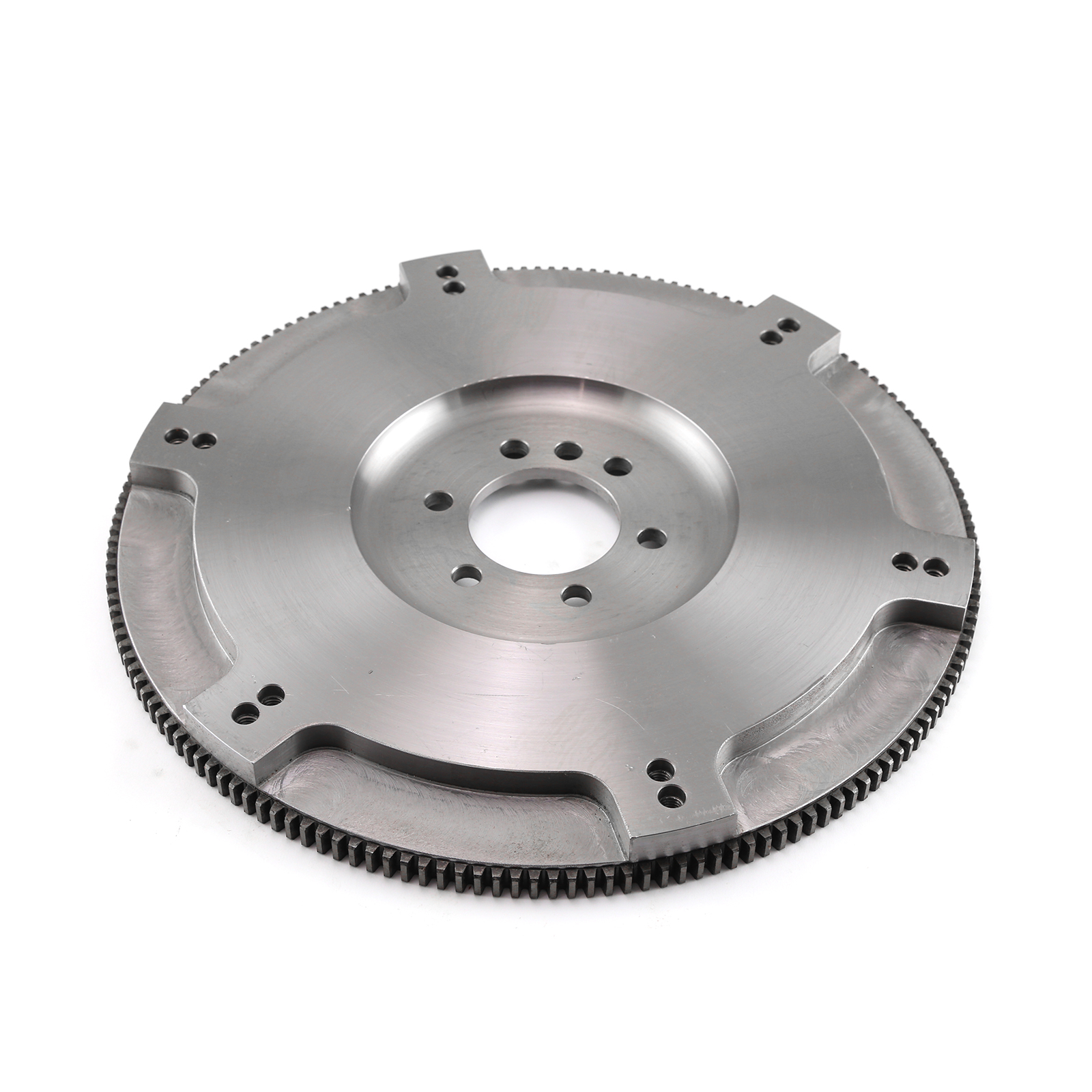 "Chevy SBC 350 2Pc Rms 168 11"" Billet Steel Light SFI Flywheel Int/Ext"