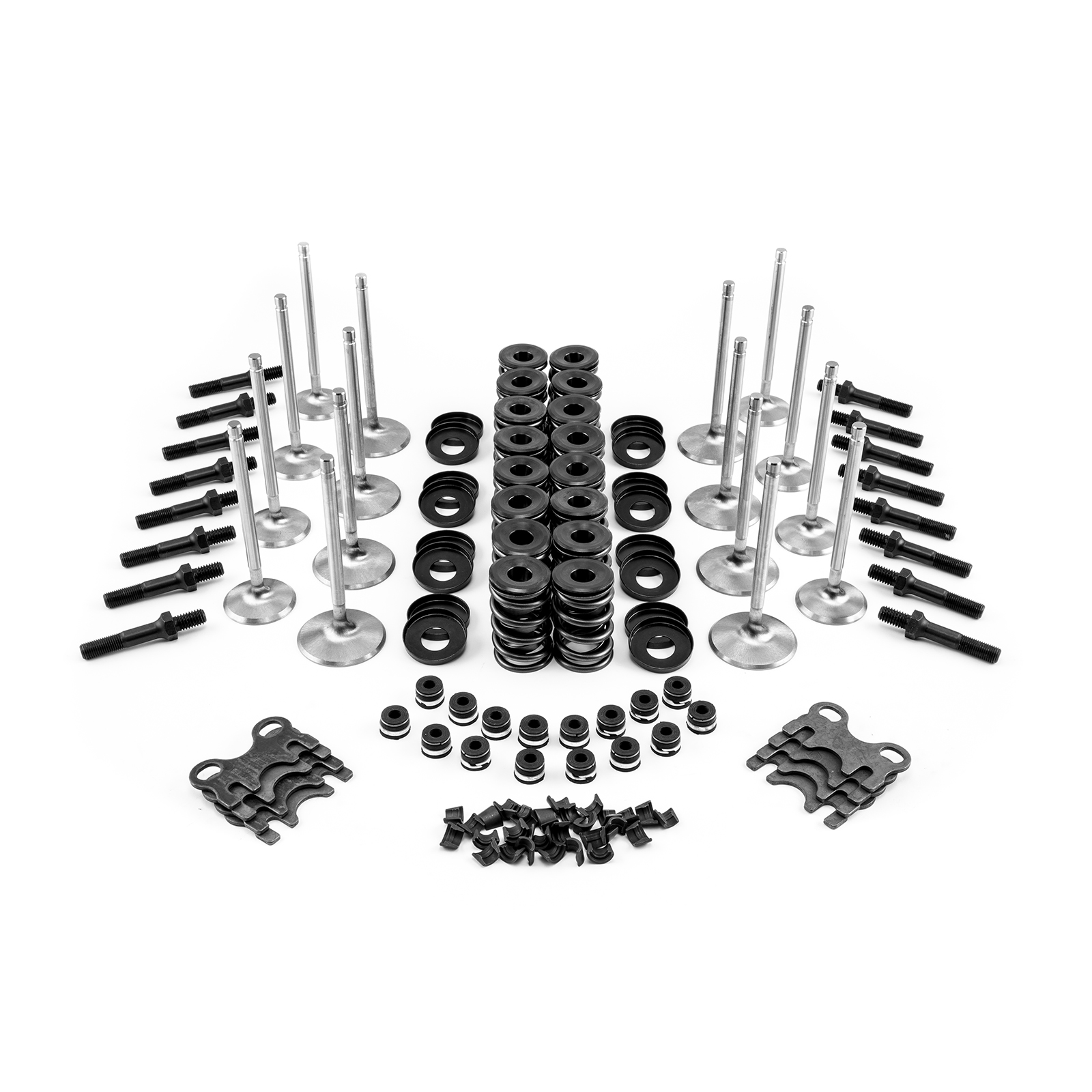 "Head Build Valvetrain Kit Small Block Ford 3/8"" (PC3036-45) or Compatible"