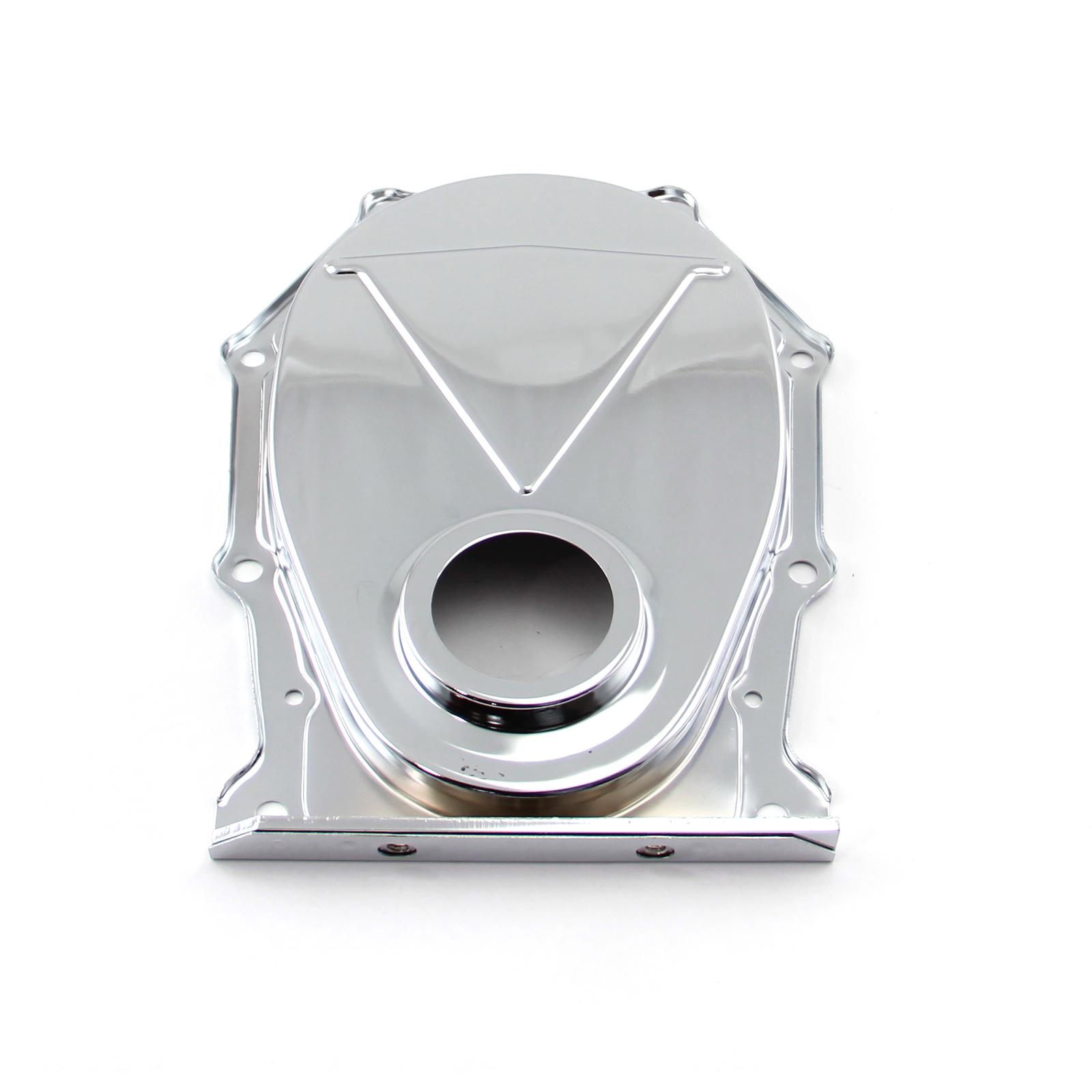 Mopar Chrysler BB 383 440 Steel Plated Timing Chain Cover Chrome
