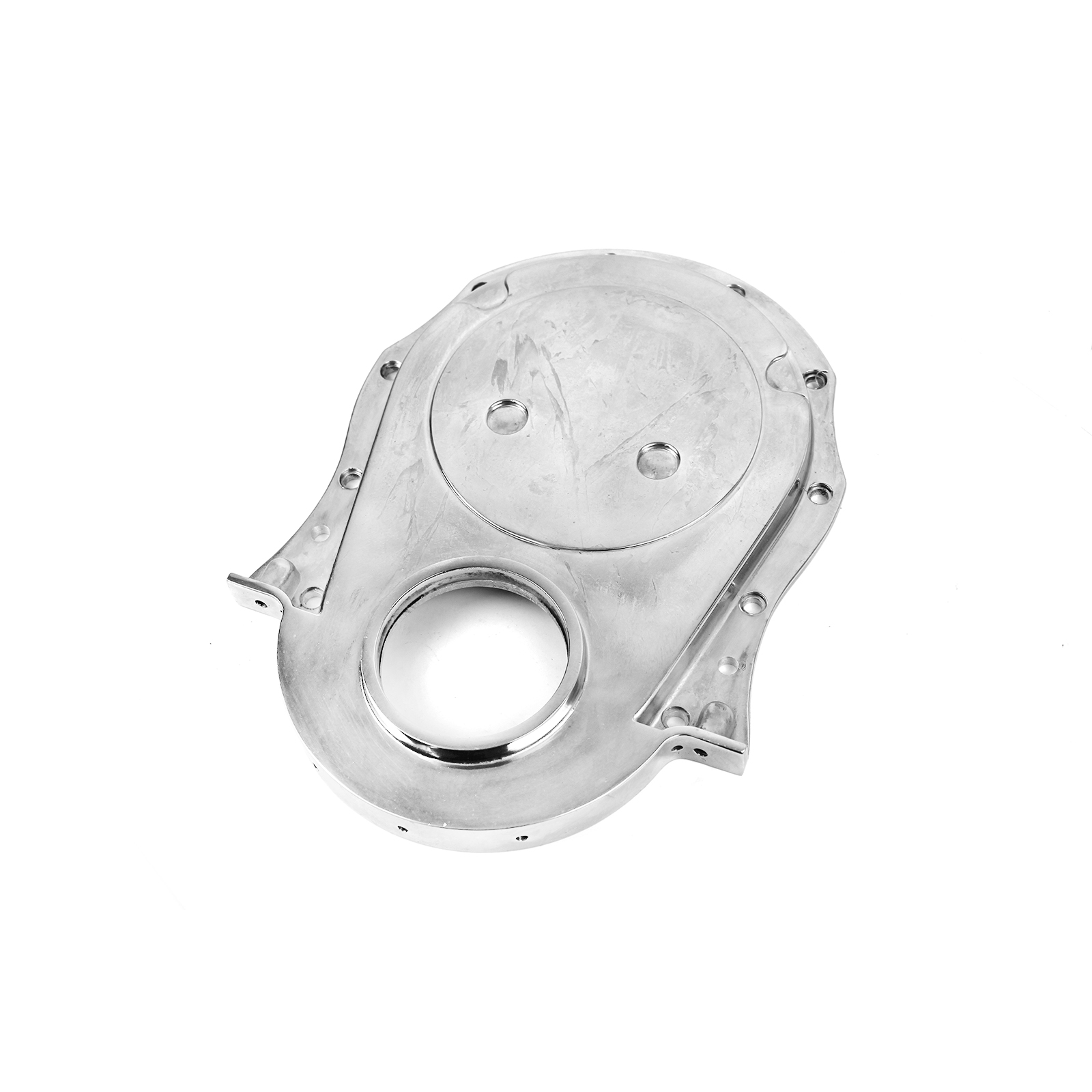 Chevy BBC 454 Gen 1-4 Aluminum Timing Chain Cover Polished