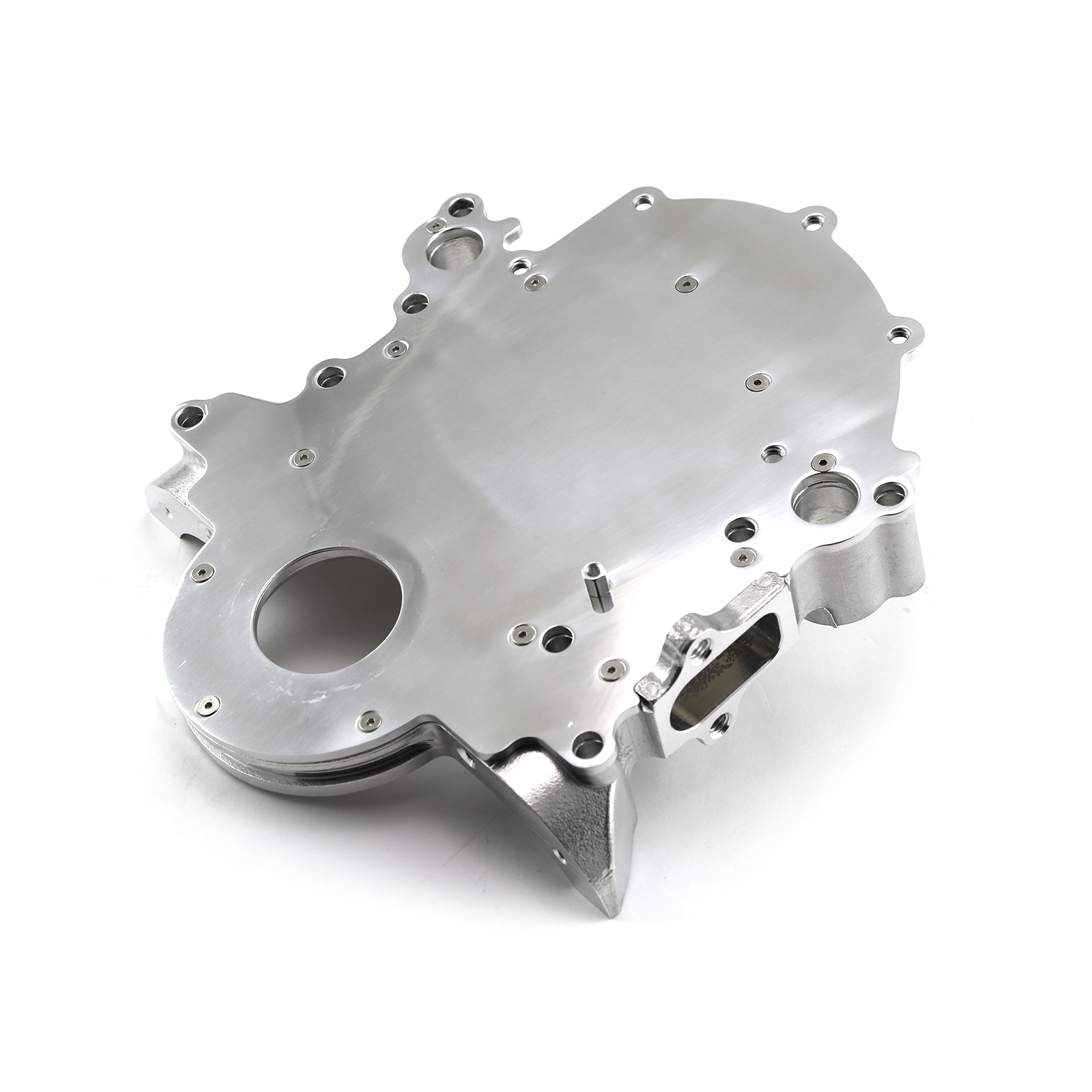 Ford SB 289 302 351 Windsor 5.0L 1968-99 2pc Billet Aluminum Timing Chain Cover